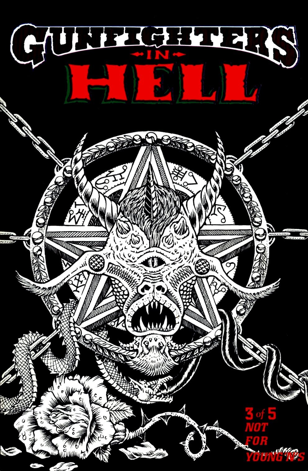 Read online Gunfighters in Hell comic -  Issue #3 - 1