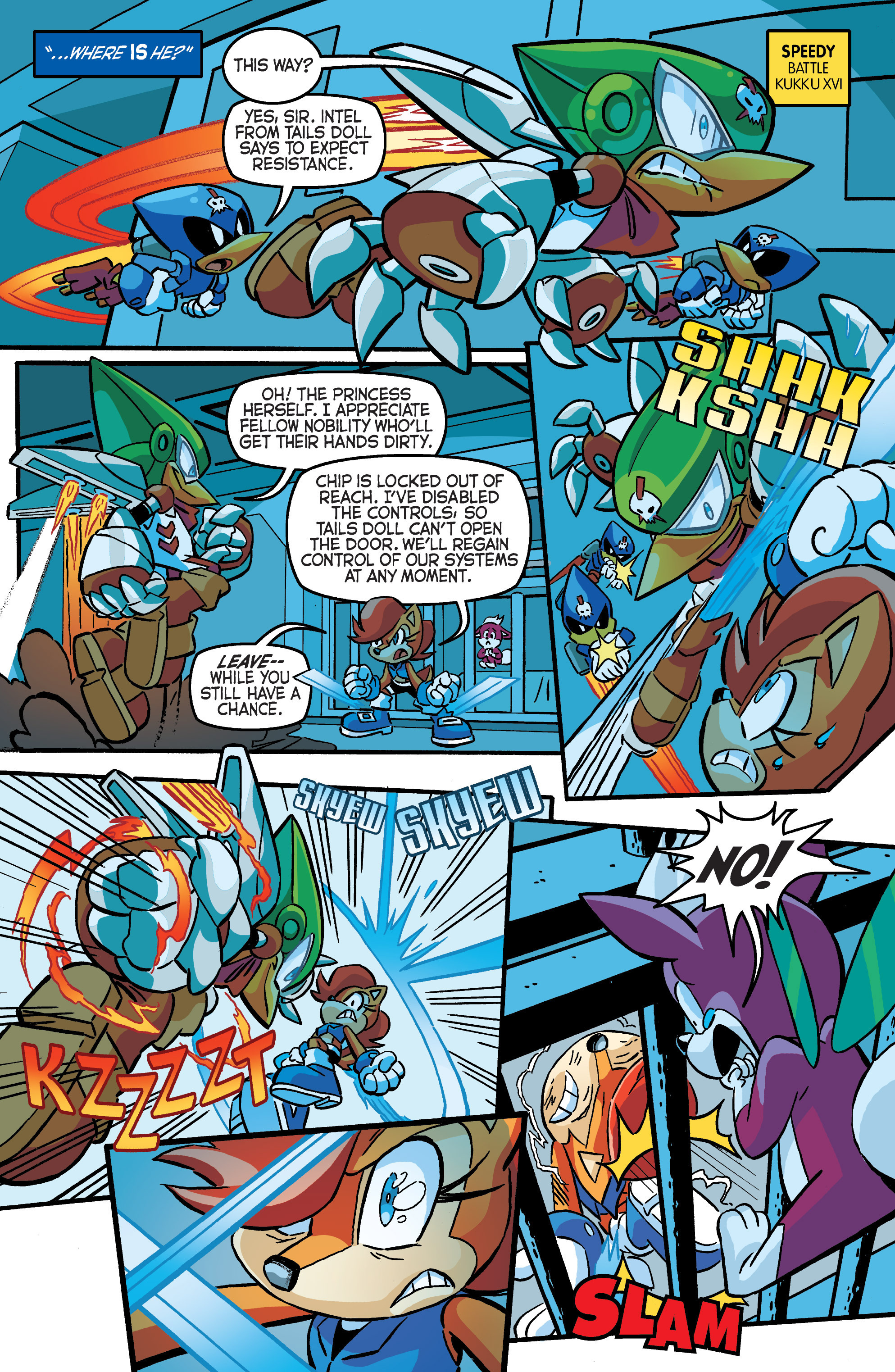 Read online Sonic The Hedgehog comic -  Issue #284 - 15