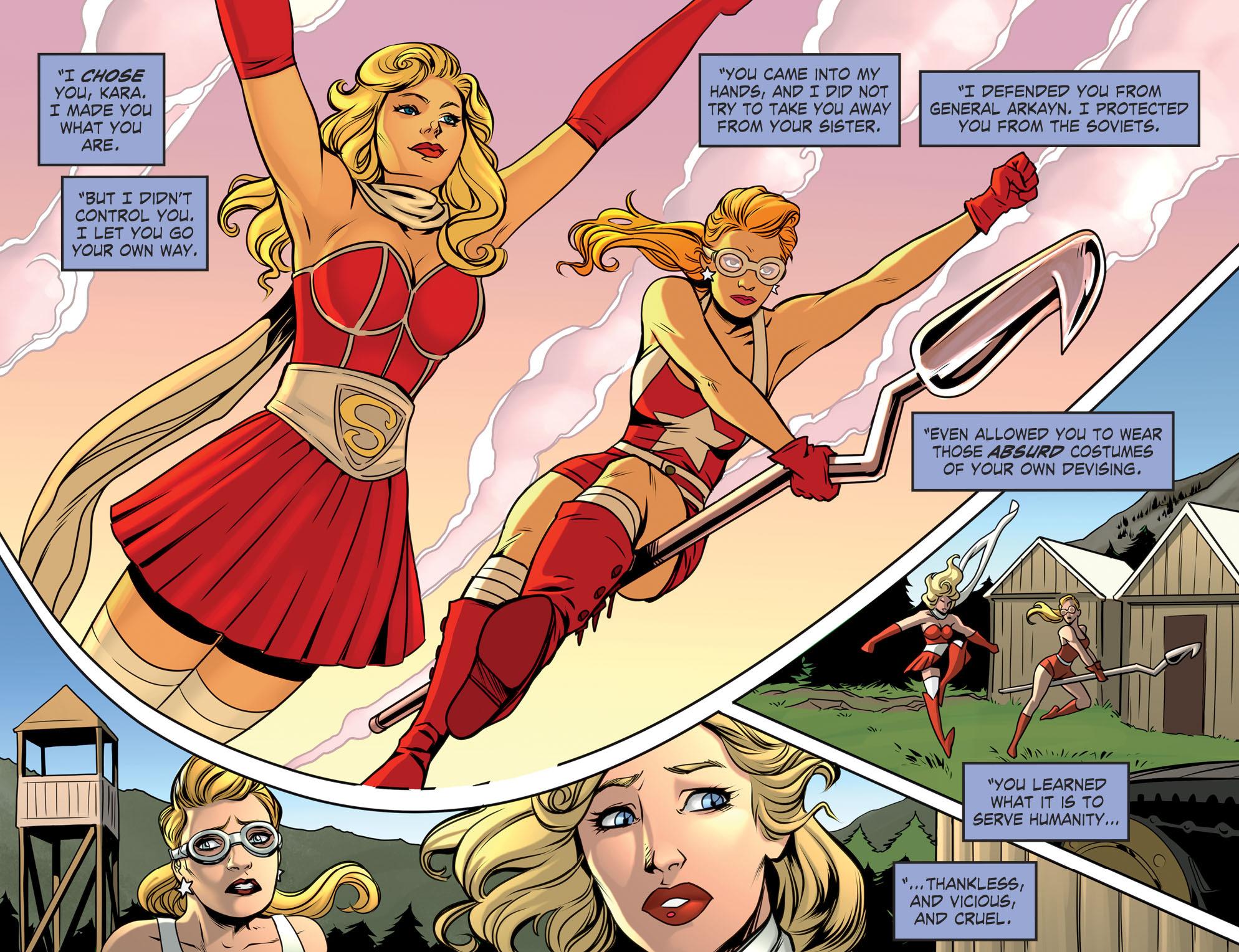 Read online DC Comics: Bombshells comic -  Issue #94 - 18