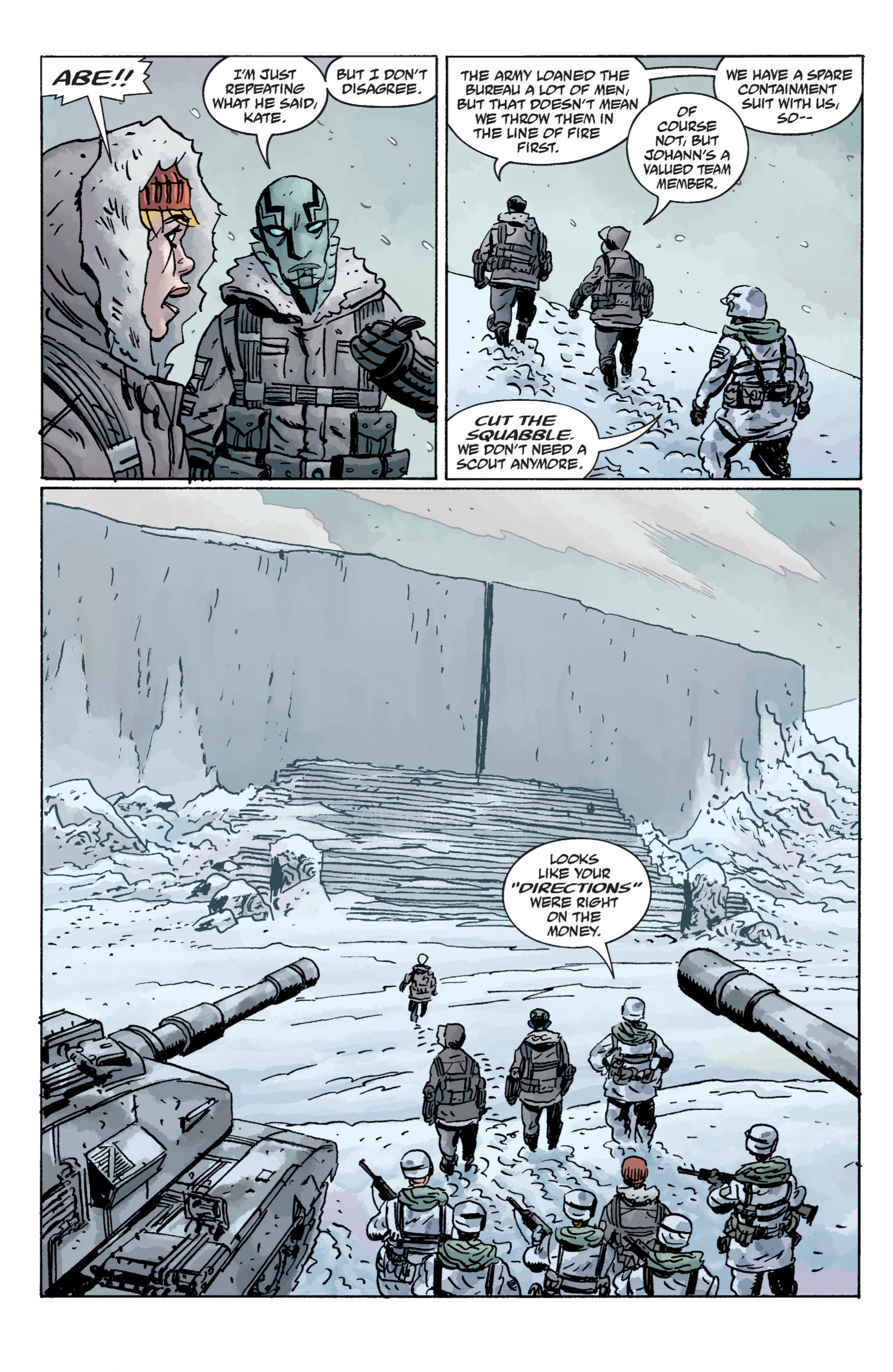 Read online B.P.R.D. (2003) comic -  Issue # TPB 11 - 36