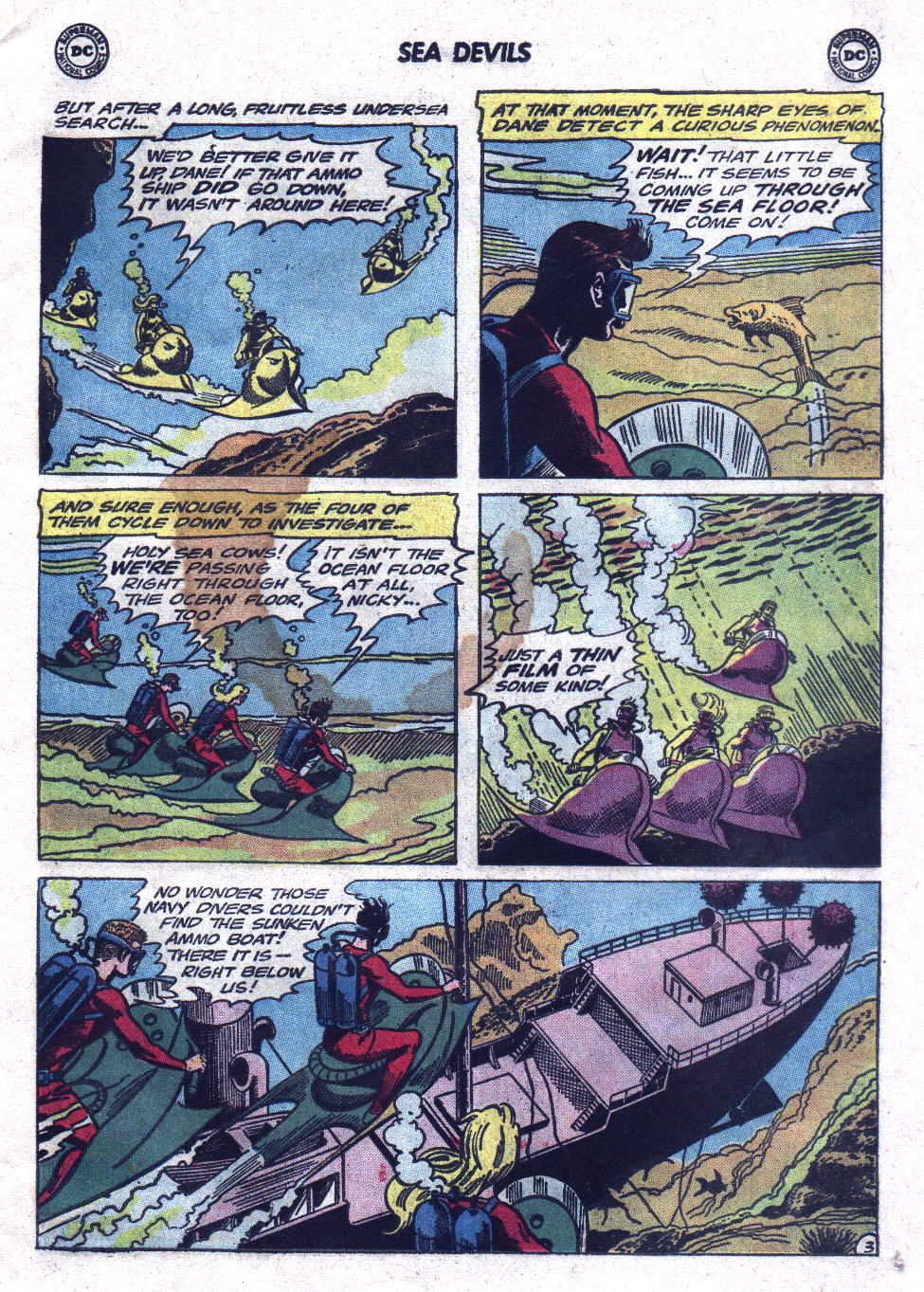 Read online Sea Devils comic -  Issue #21 - 5