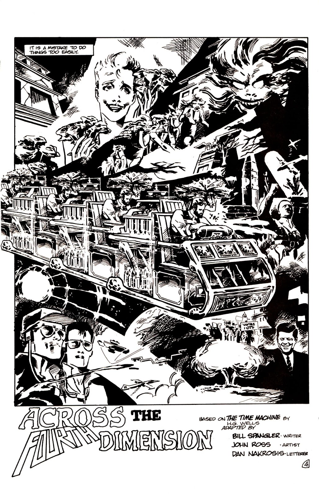 The Time Machine issue 1 - Page 6