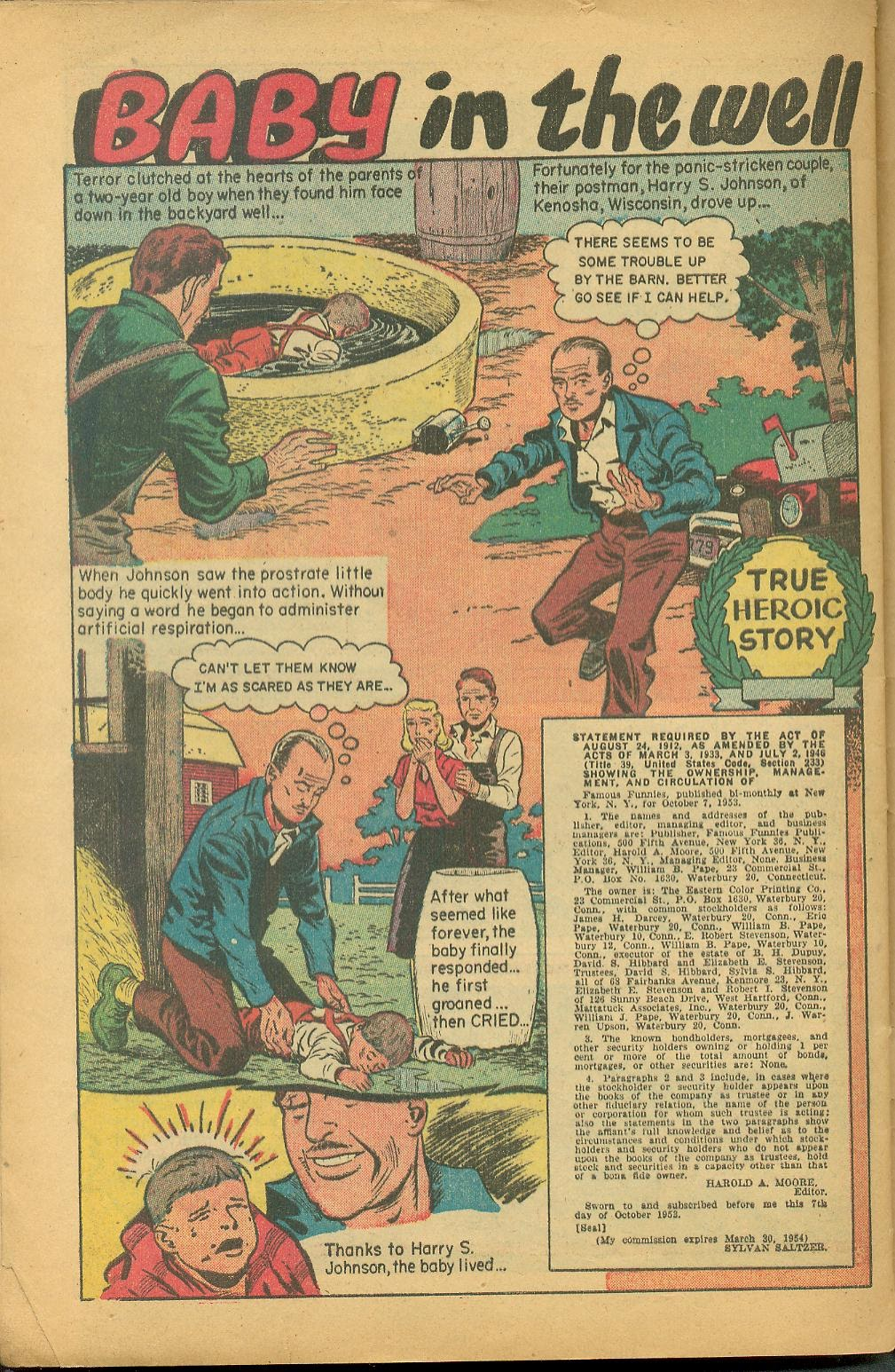 Read online Famous Funnies comic -  Issue #211 - 32