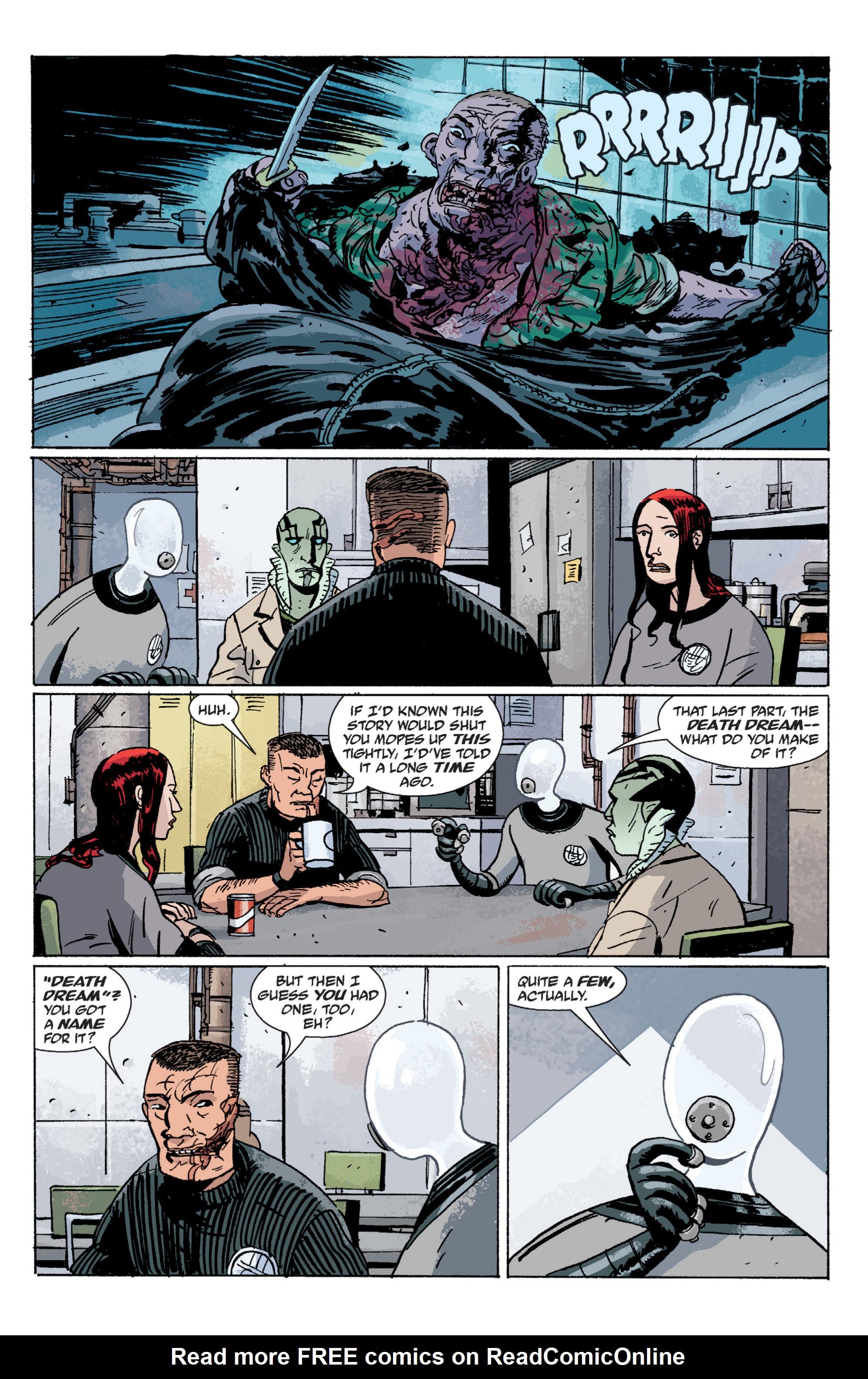 Read online B.P.R.D. (2003) comic -  Issue # TPB 6 - 56