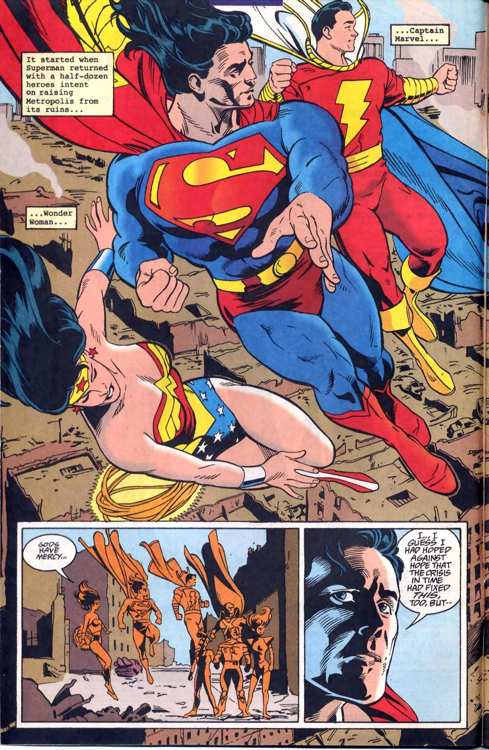 Read online Adventures of Superman (1987) comic -  Issue #522 - 4