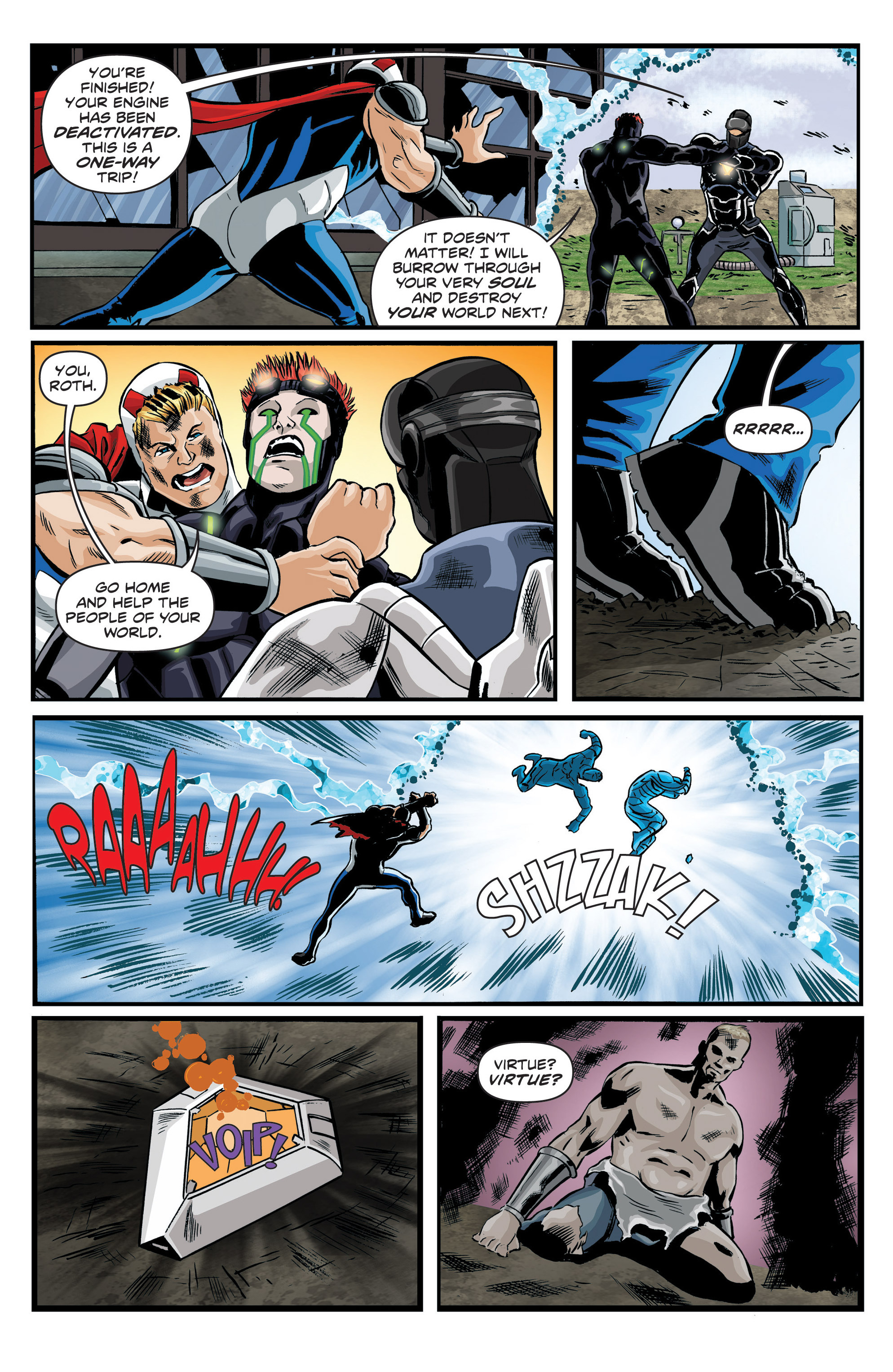 Read online Actionverse comic -  Issue #6 - 18