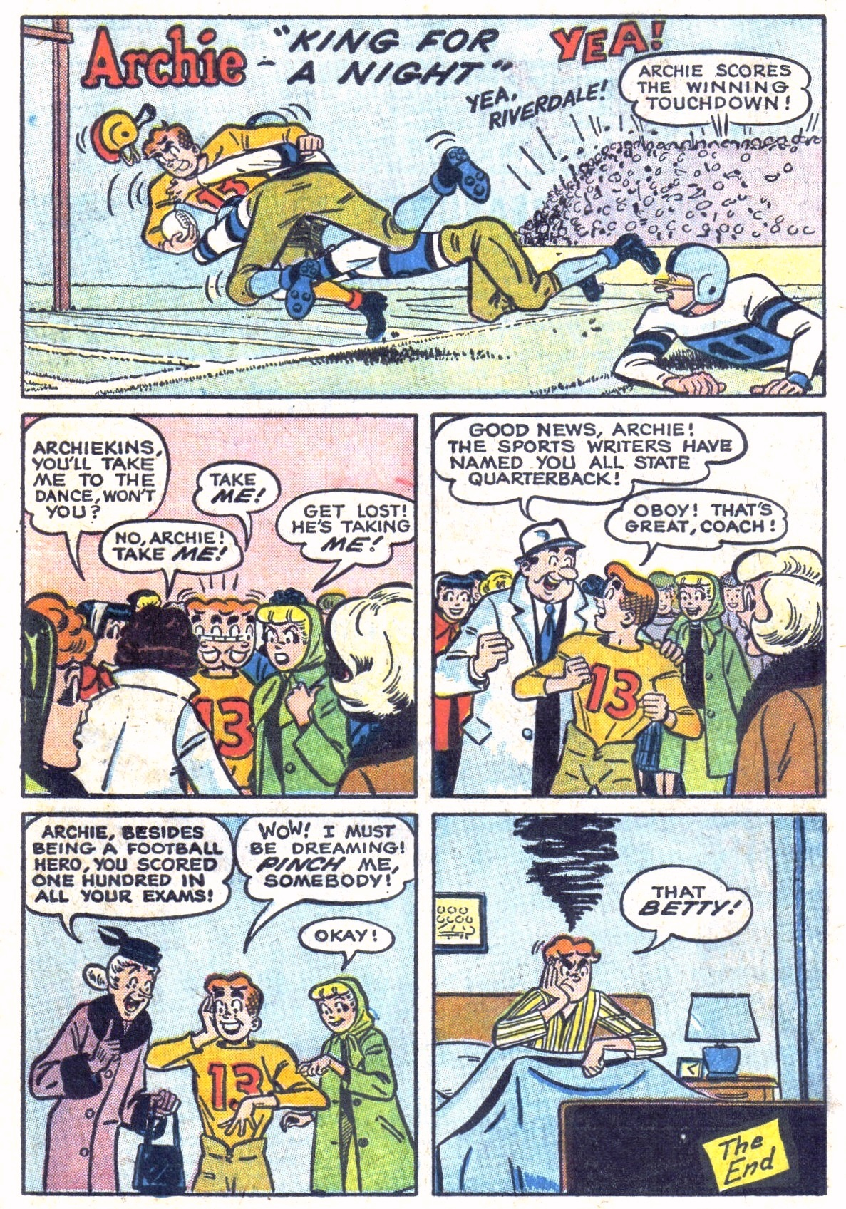 Read online Archie (1960) comic -  Issue #134 - 11