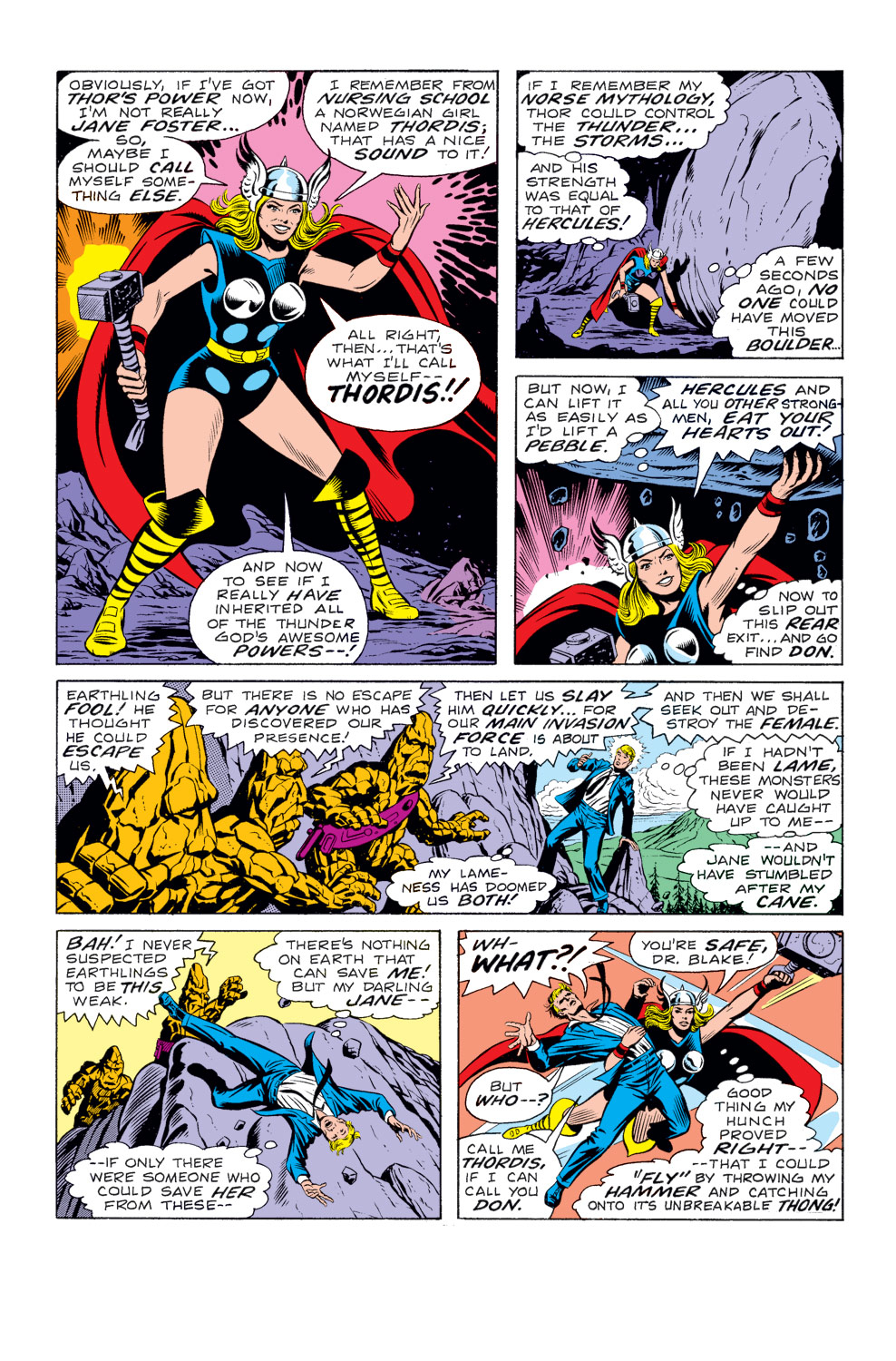 scans daily what if 10 jane foster had the hammer of thor