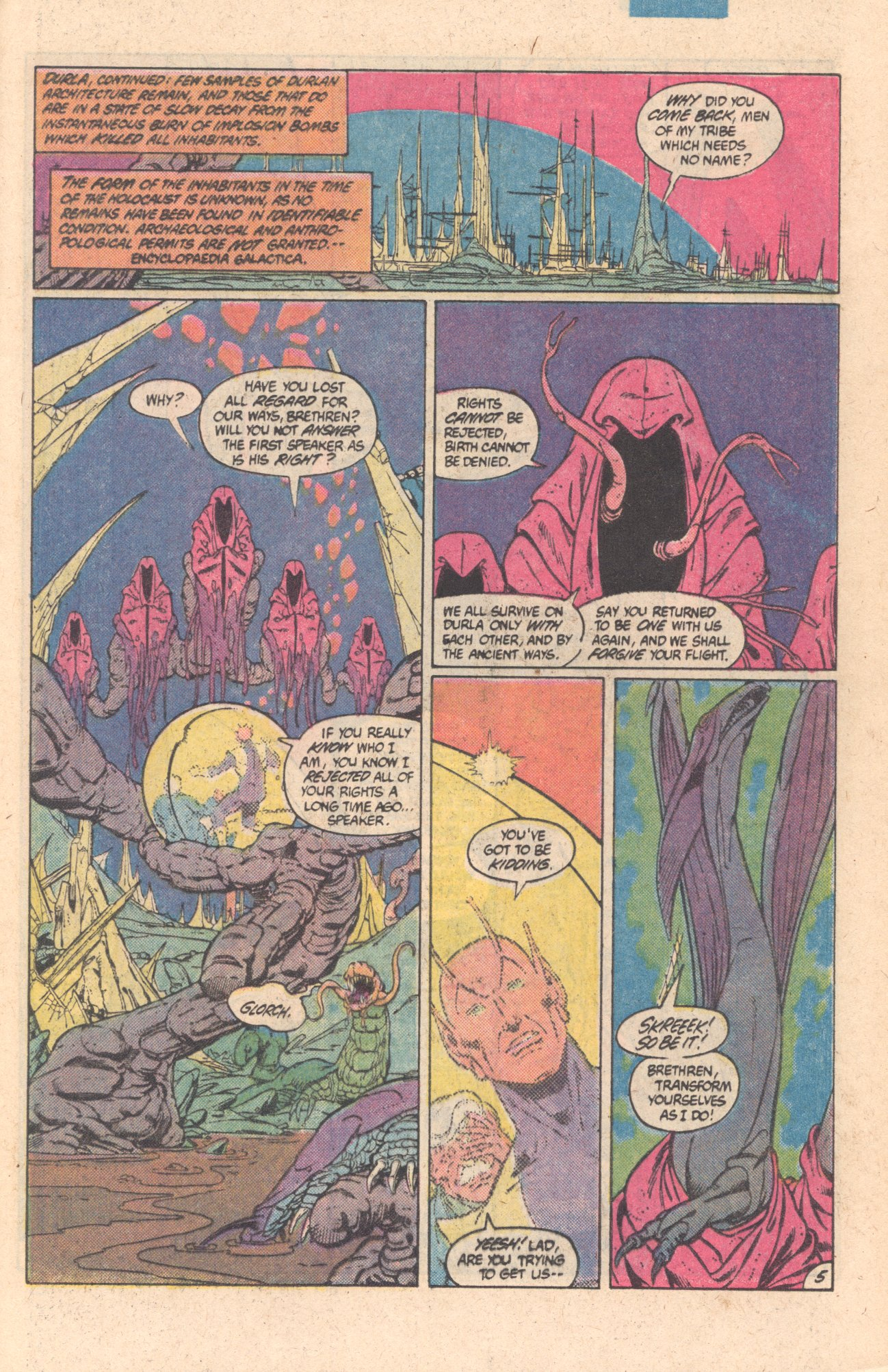Legion of Super-Heroes (1980) 301 Page 5