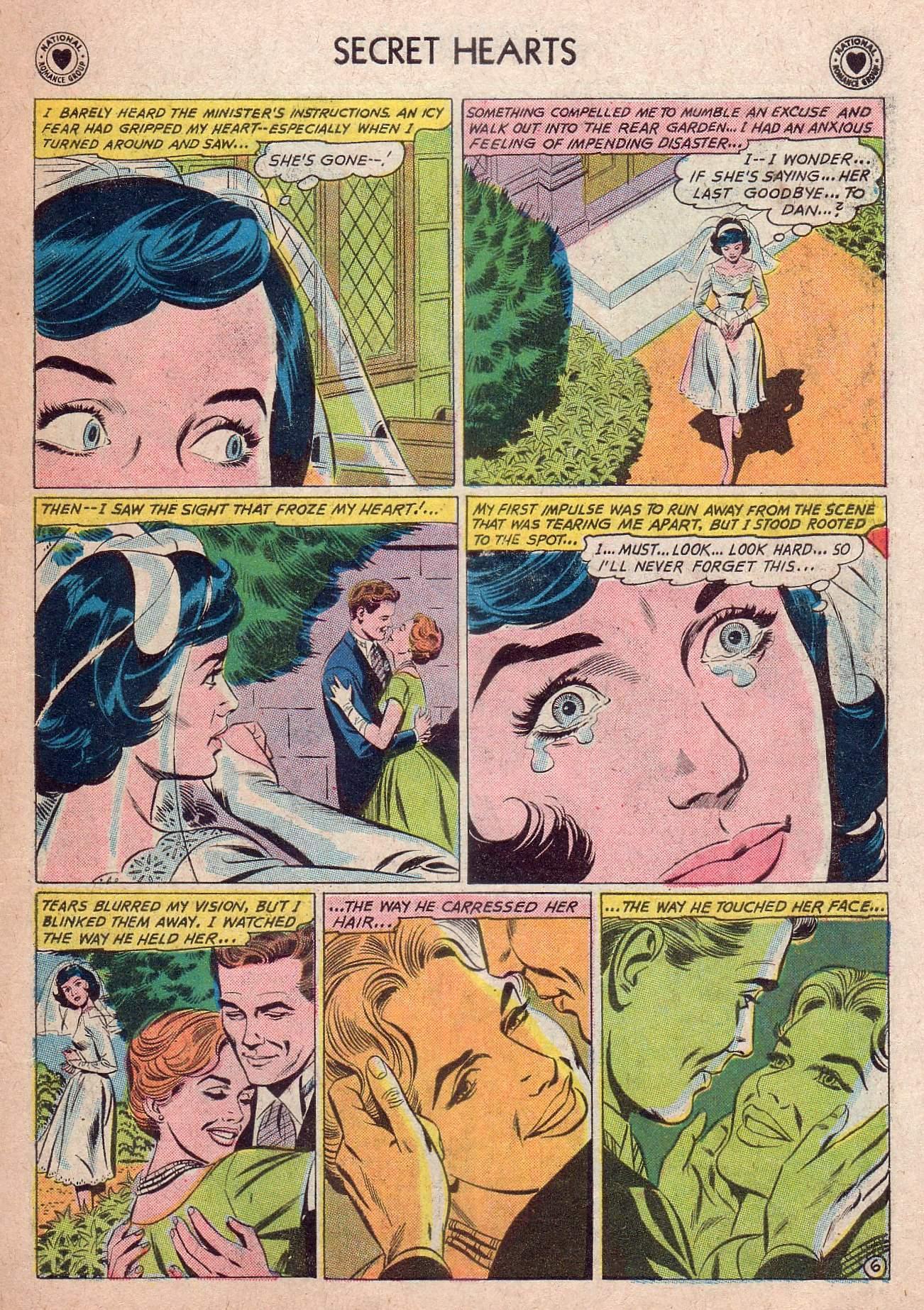 Read online Secret Hearts comic -  Issue #73 - 23