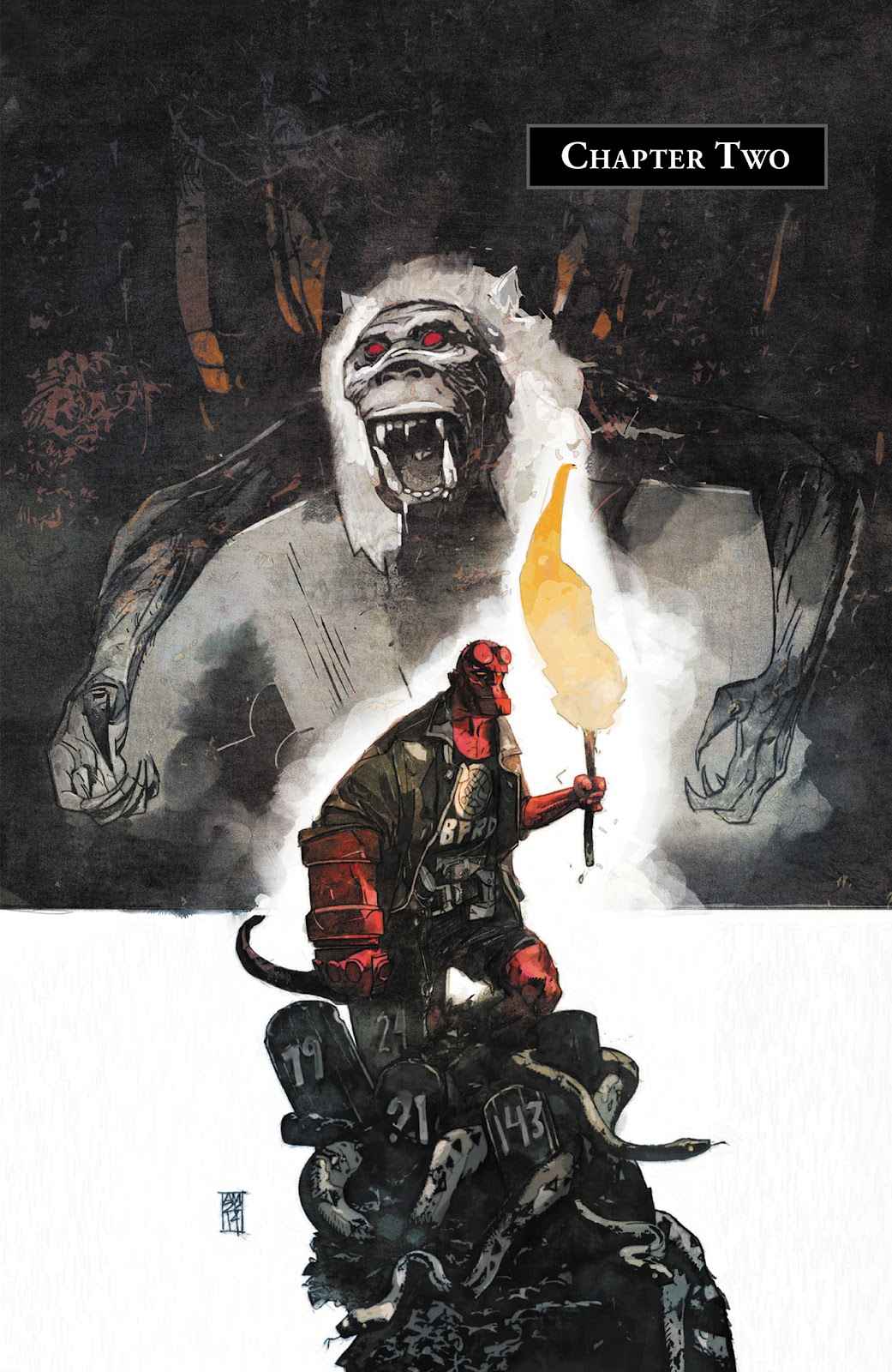 Read online Hellboy and the B.P.R.D. comic -  Issue # _TPB - 30