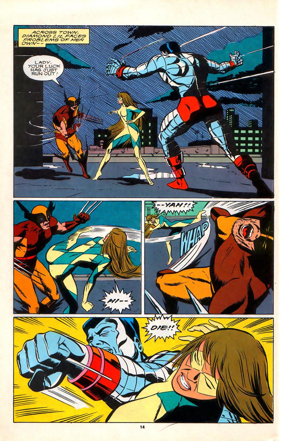 Read online Alpha Flight (1983) comic -  Issue #75 - 12