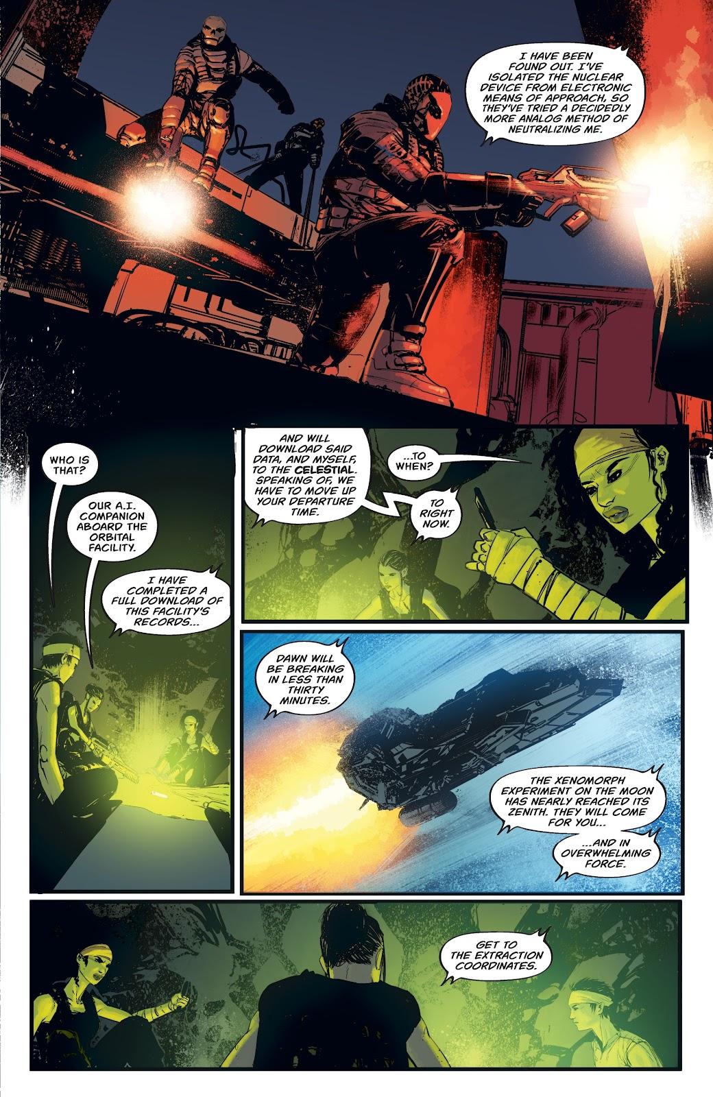 Read online Aliens: Resistance comic -  Issue #4 - 13