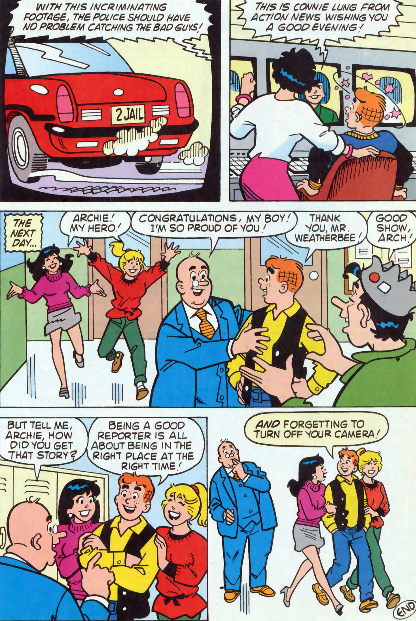 Read online Archie (1960) comic -  Issue #458 - 14