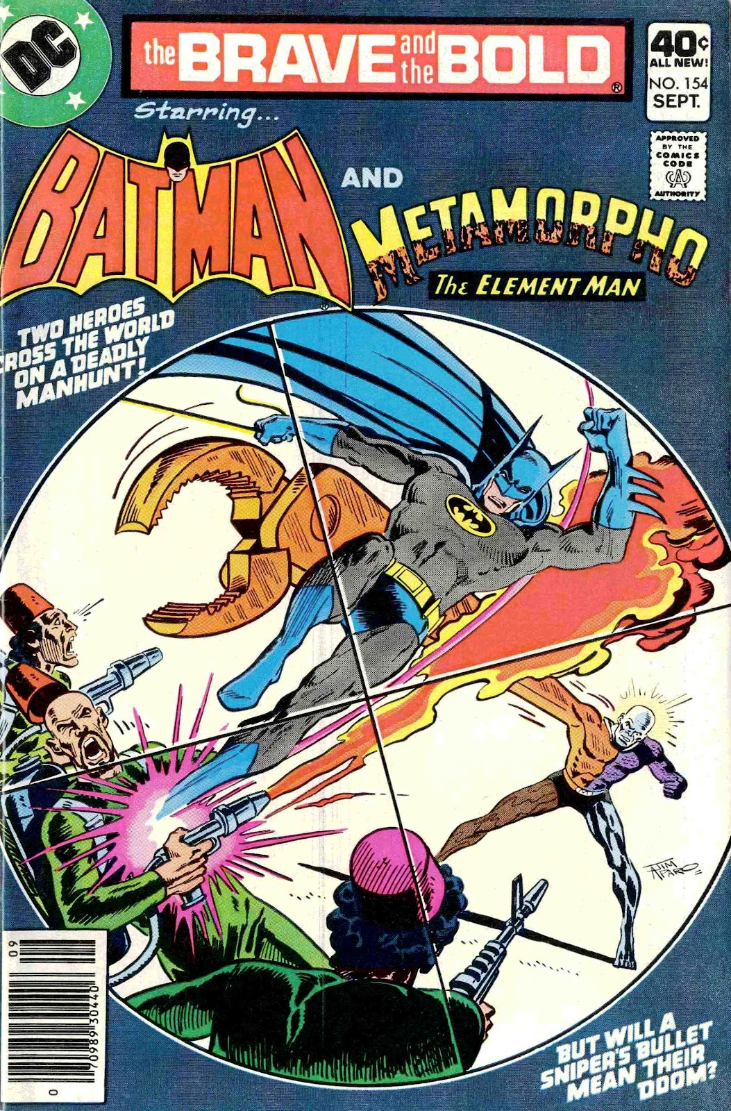 The Brave and the Bold (1955) issue 154 - Page 1