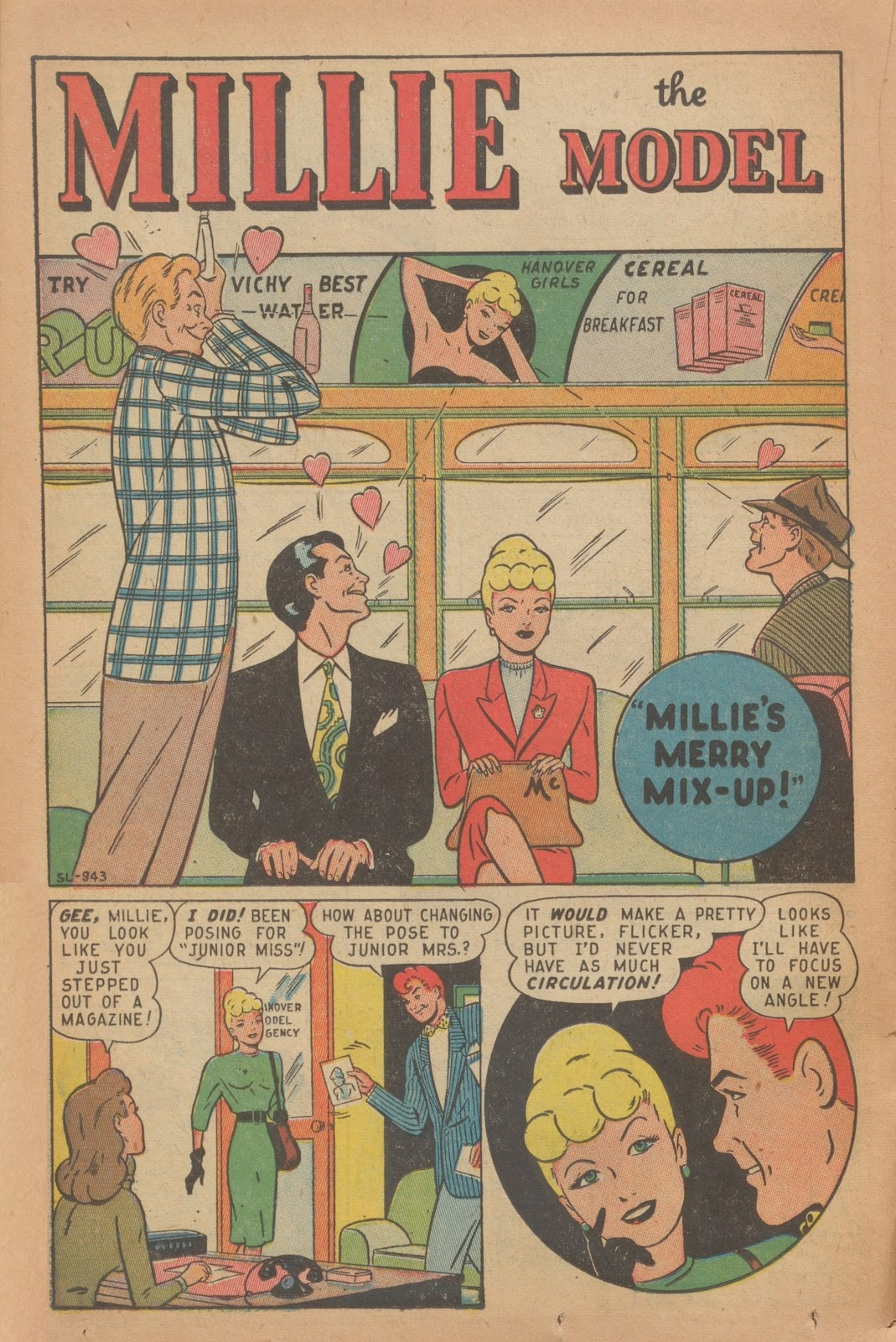 Read online Nellie The Nurse (1945) comic -  Issue #9 - 34