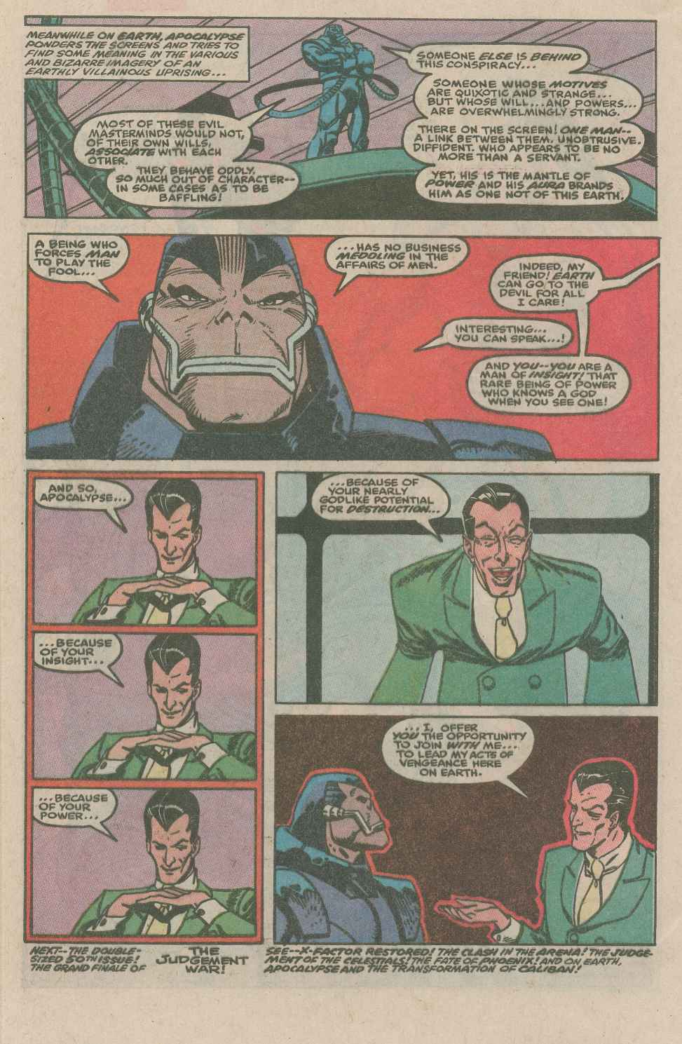 Read online X-Factor (1986) comic -  Issue #49 - 22