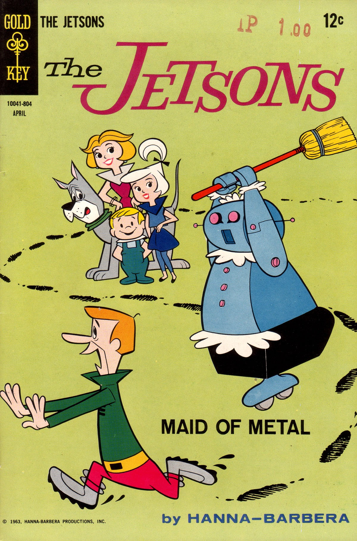 The Jetsons (1963) issue 26 - Page 1