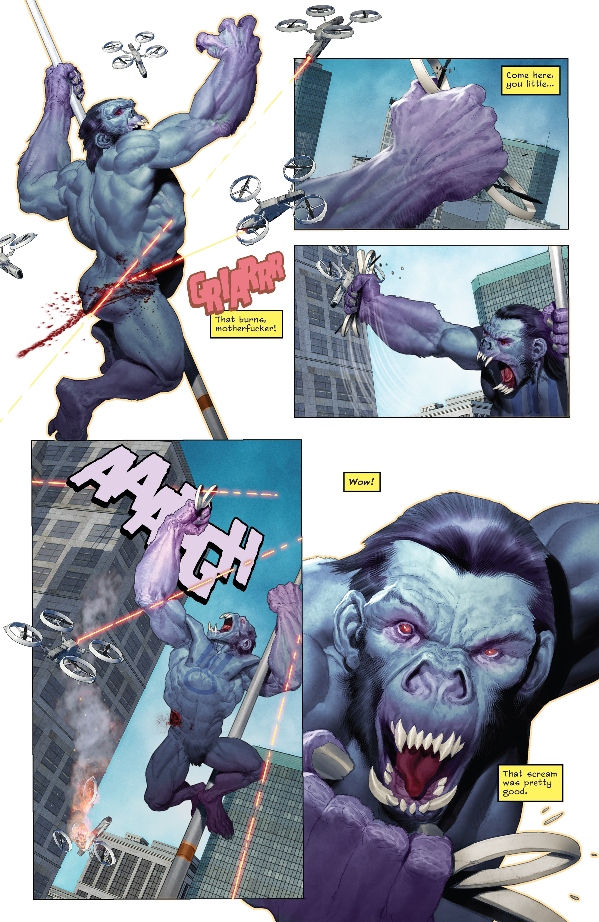 Read online Animal Noir comic -  Issue #4 - 29