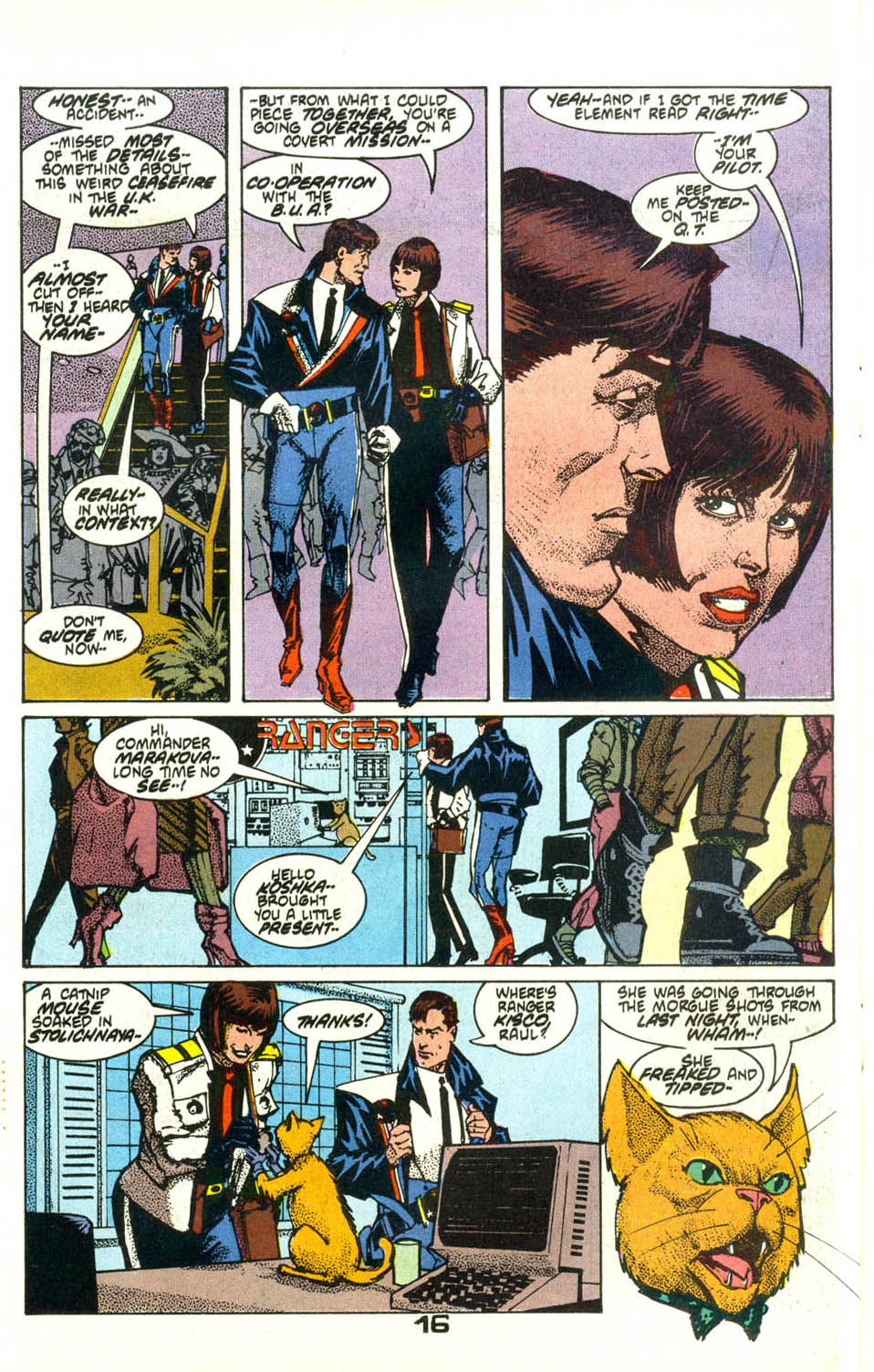 Read online American Flagg! comic -  Issue #21 - 19