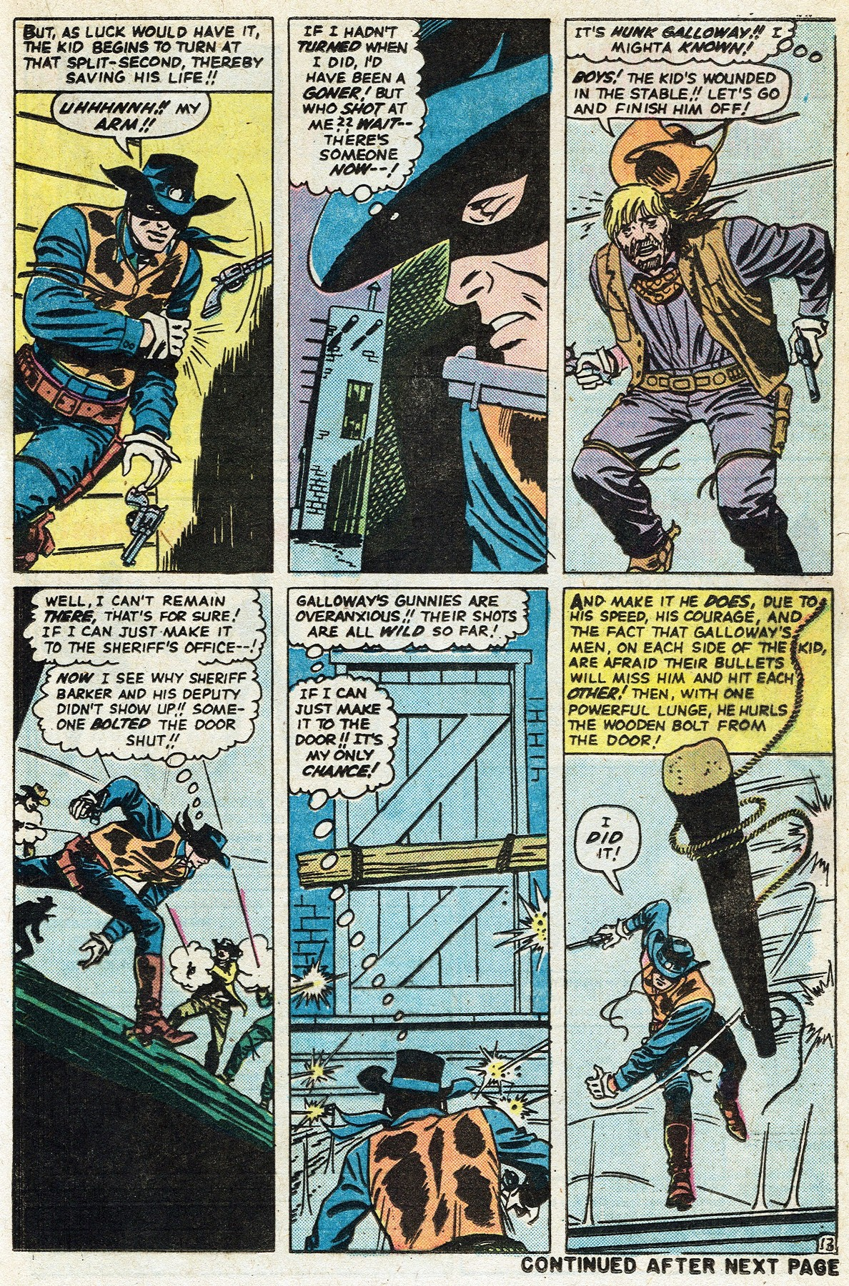 Read online Two-Gun Kid comic -  Issue #122 - 21
