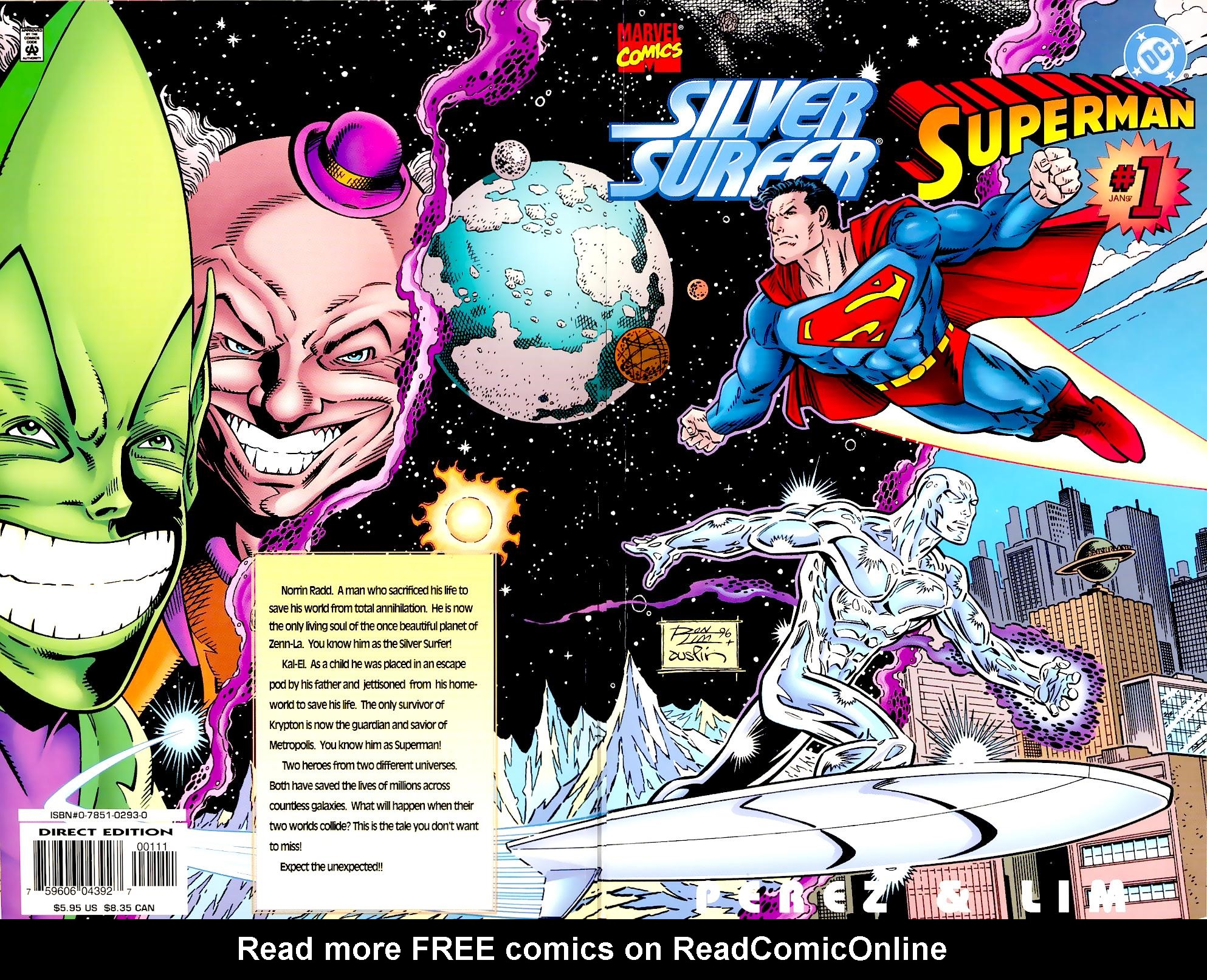Read online Silver Surfer/Superman comic -  Issue # Full - 1