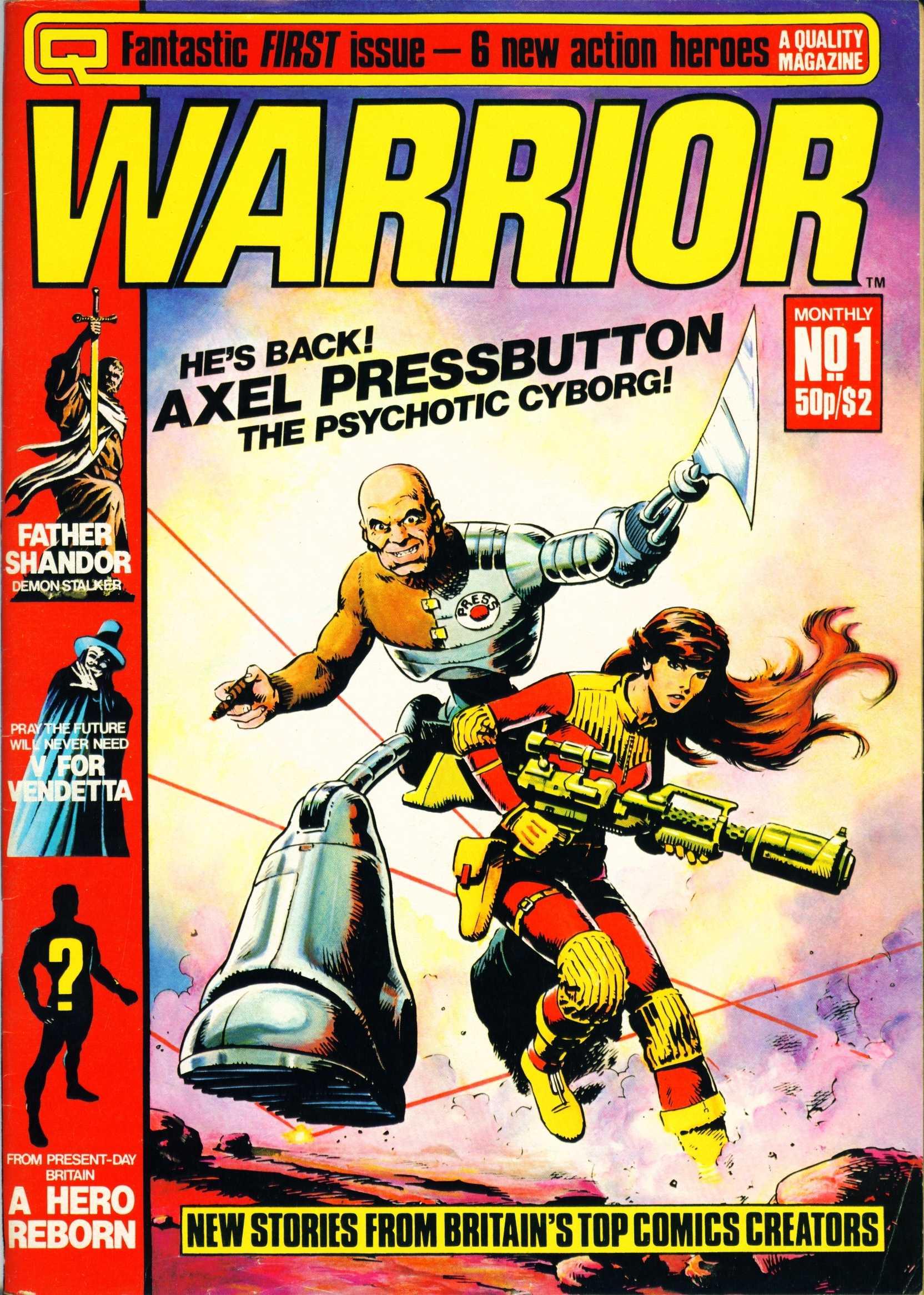 Warrior 1 Page 1