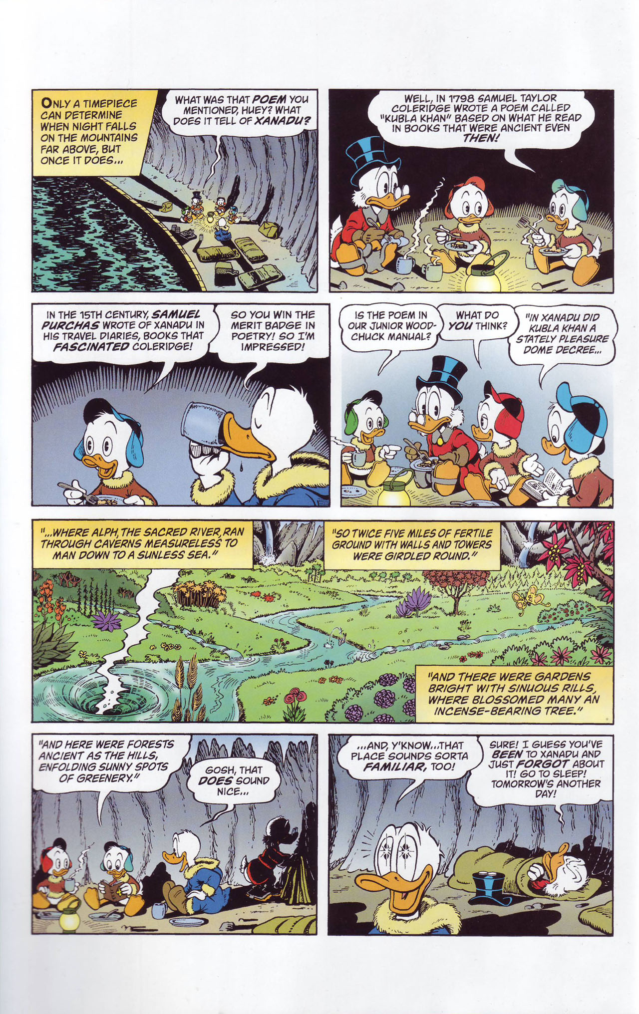 Read online Uncle Scrooge (1953) comic -  Issue #357 - 8