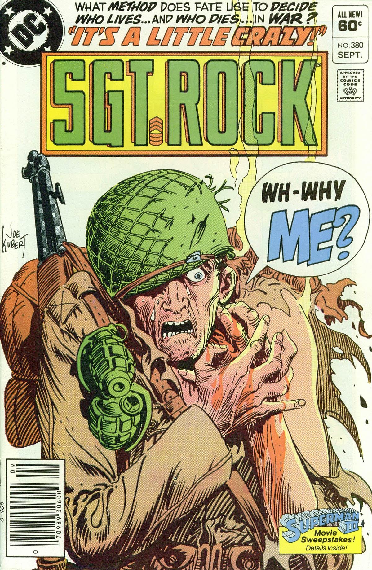 Read online Sgt. Rock comic -  Issue #380 - 1