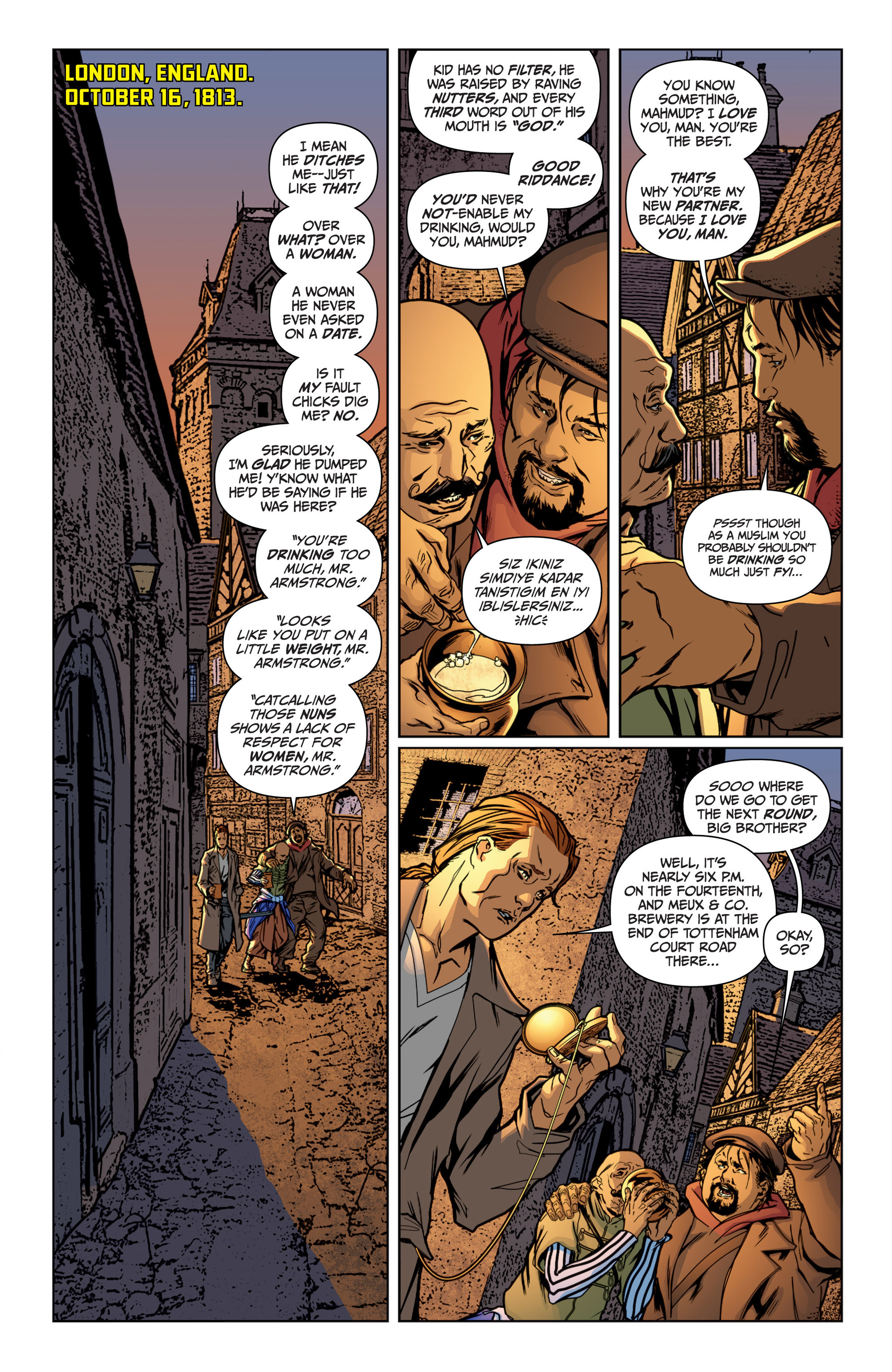 Read online Archer and Armstrong comic -  Issue #15 - 14