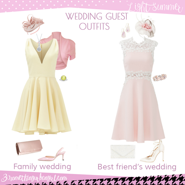 Wedding Guest Outfit Ideas for Light Spring and Light Summer Women ...