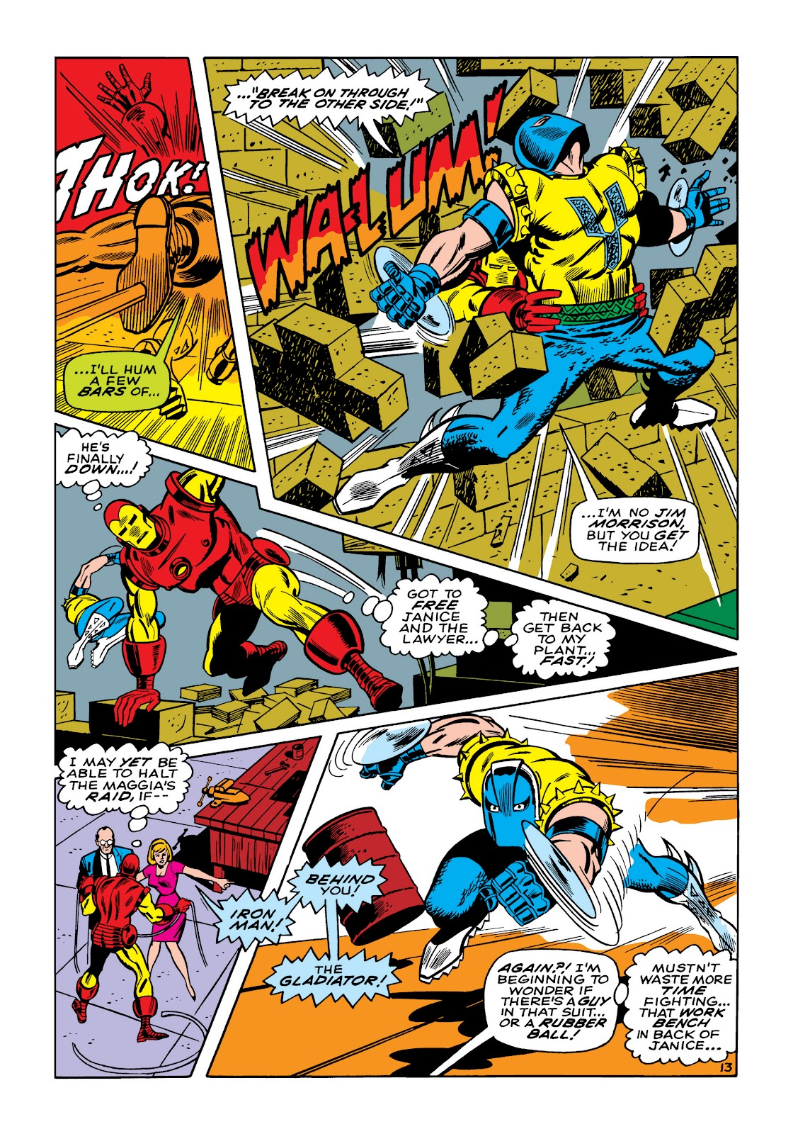 Read online Marvel Masterworks: The Invincible Iron Man comic -  Issue # TPB 5 (Part 2) - 46