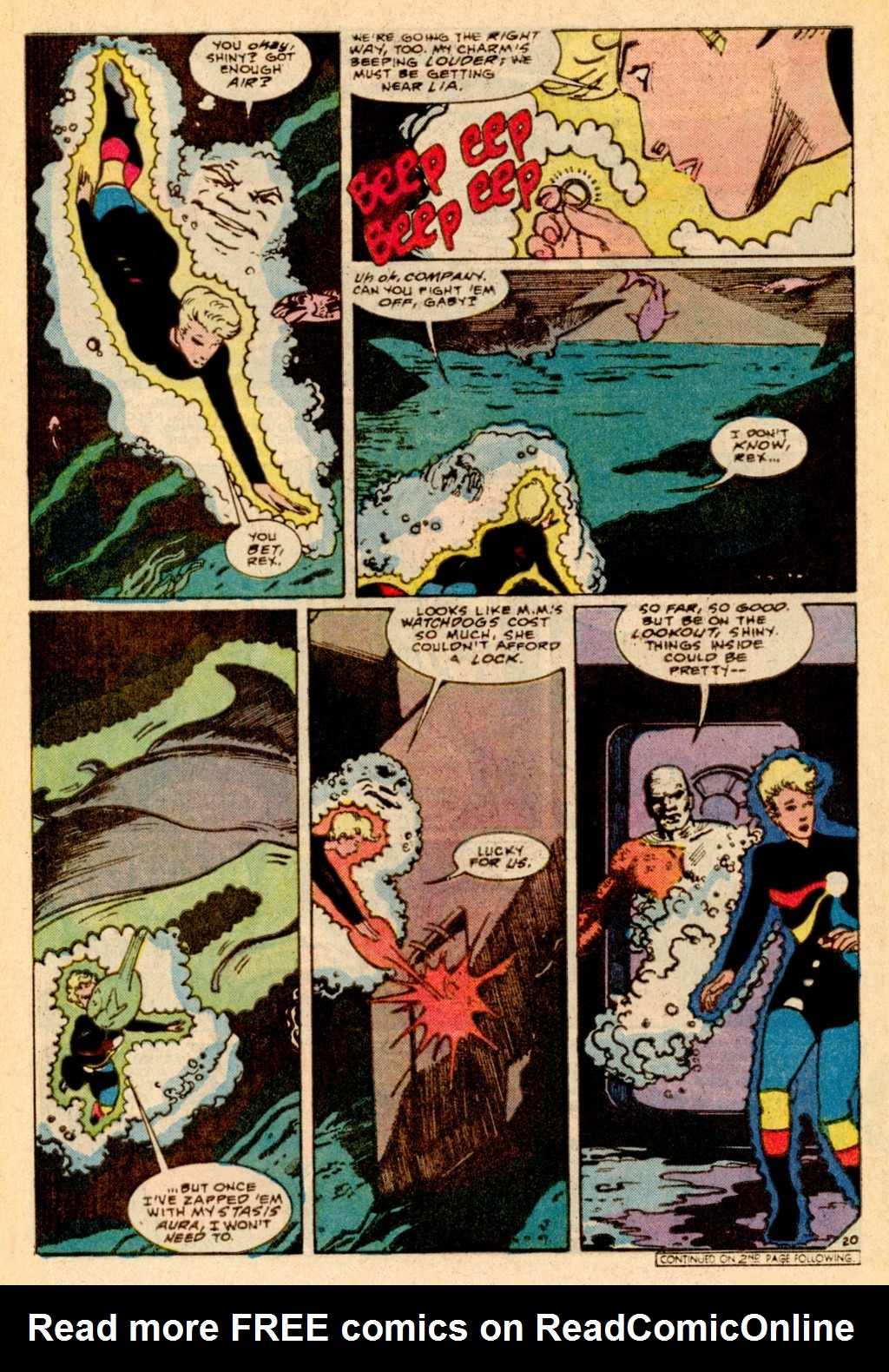 Read online Adventures of the Outsiders comic -  Issue #37 - 21