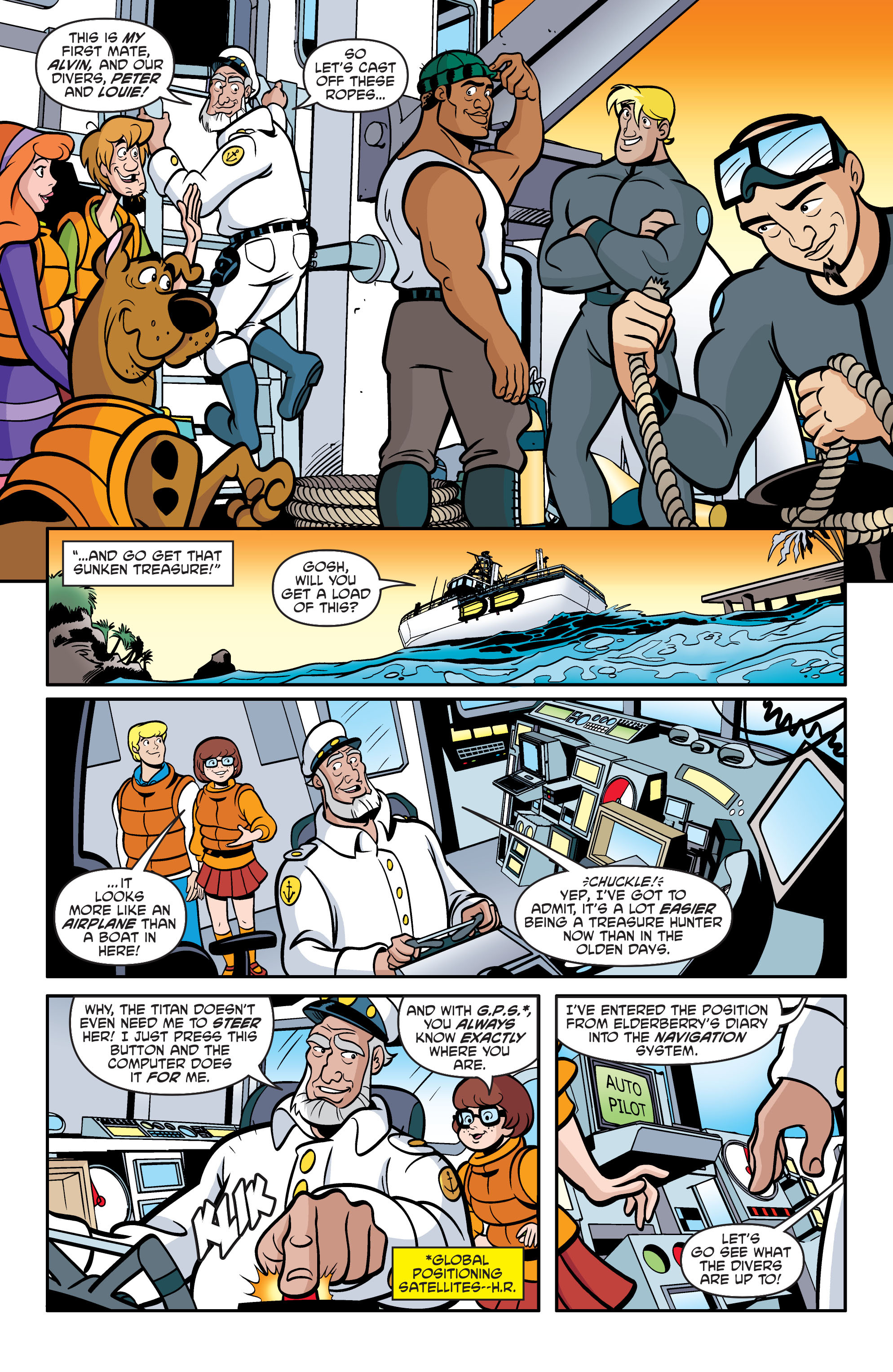 Read online Scooby-Doo: Where Are You? comic -  Issue #60 - 13
