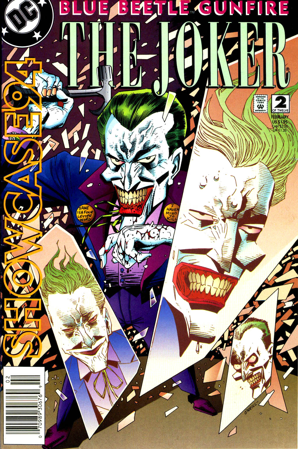 Read online Showcase '94 comic -  Issue #2 - 1