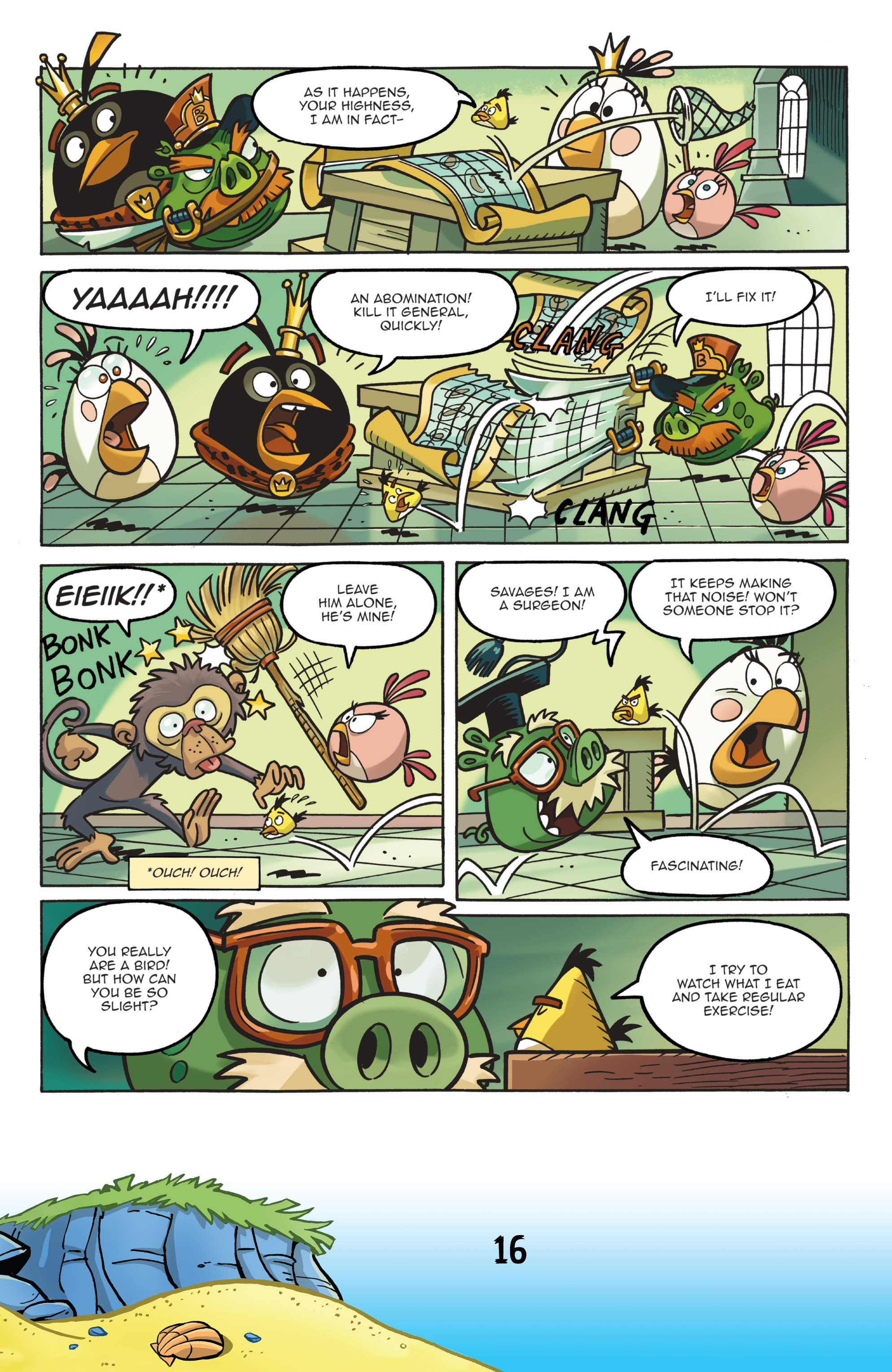 Read online Angry Birds Comics (2016) comic -  Issue #7 - 18
