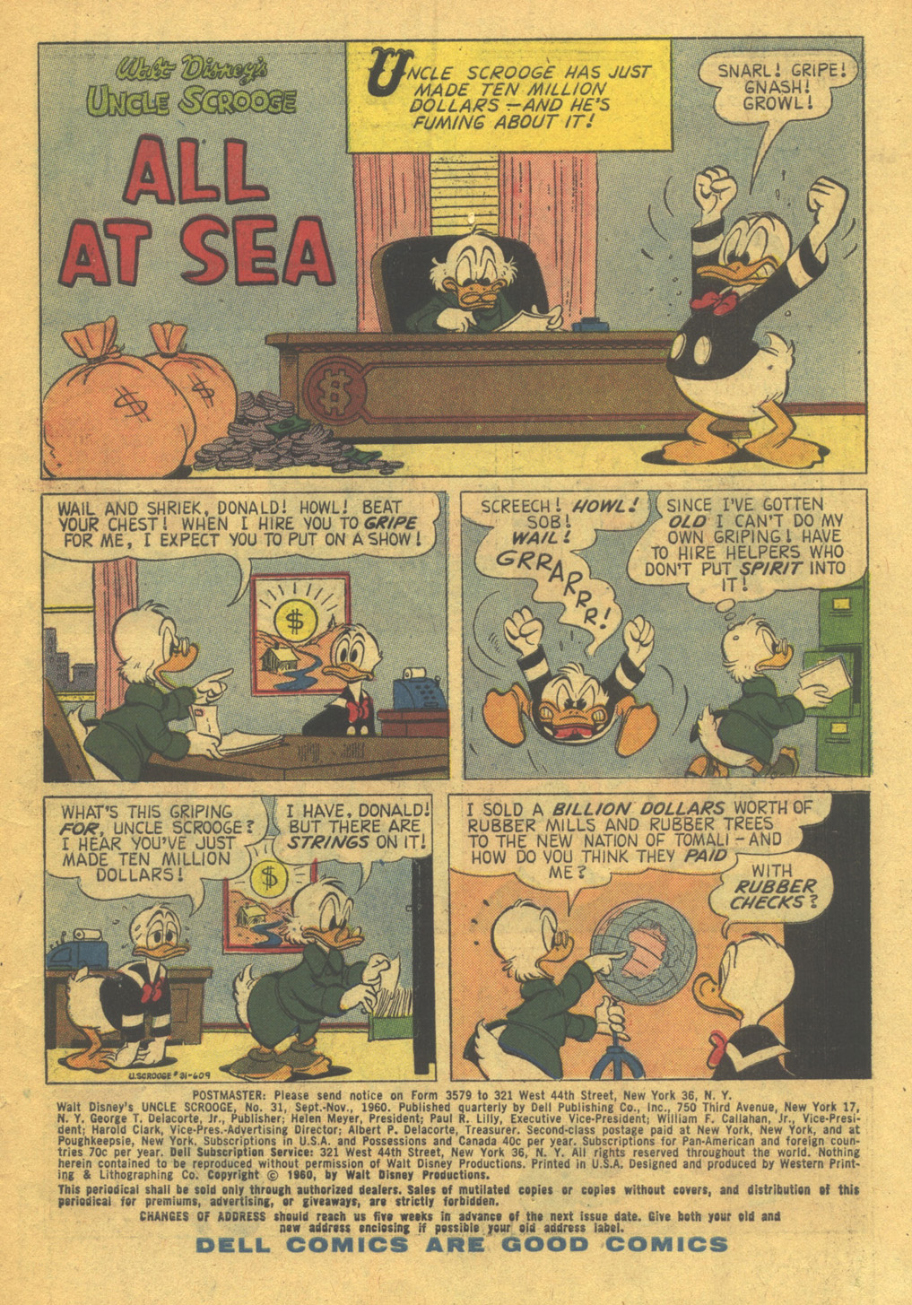 Read online Uncle Scrooge (1953) comic -  Issue #31 - 3