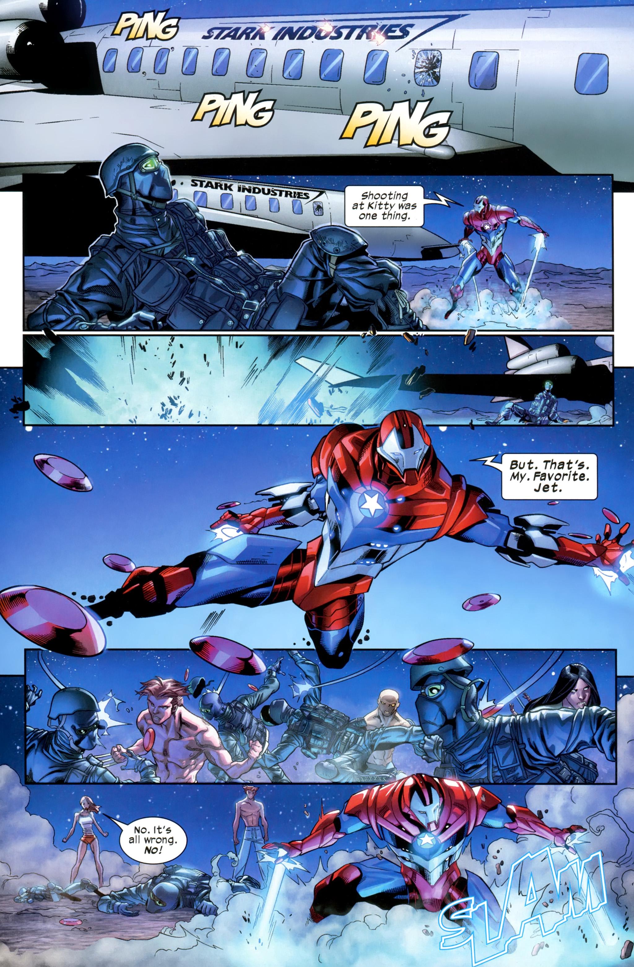 Read online Ultimate Comics X-Men comic -  Issue #21 - 19