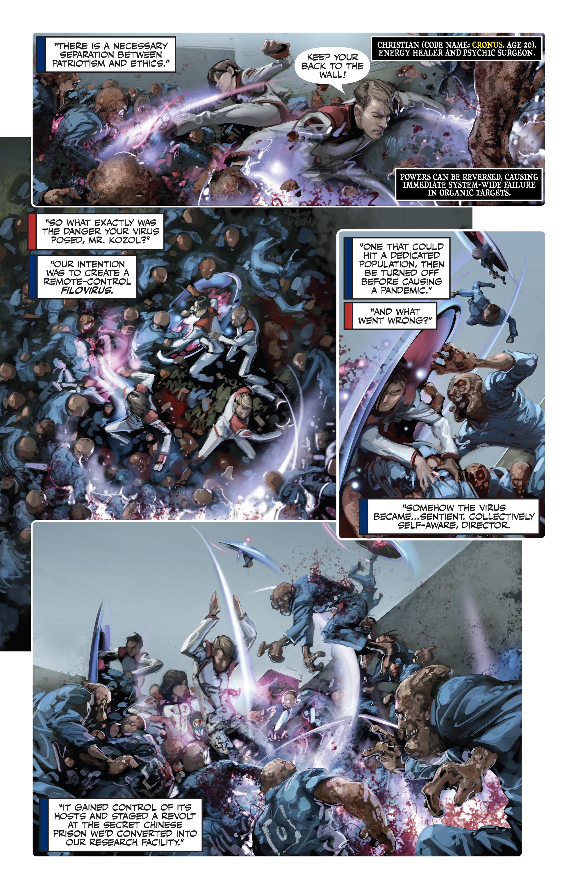 Read online Armor Hunters: Harbinger comic -  Issue # TPB - 84