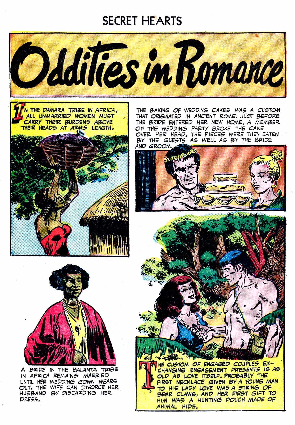 Read online Secret Hearts comic -  Issue #19 - 24