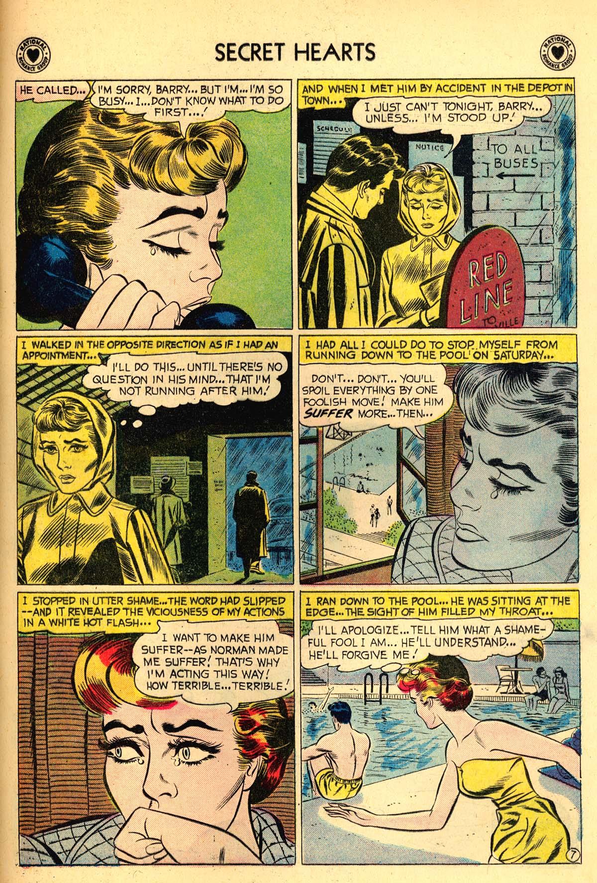 Read online Secret Hearts comic -  Issue #55 - 33