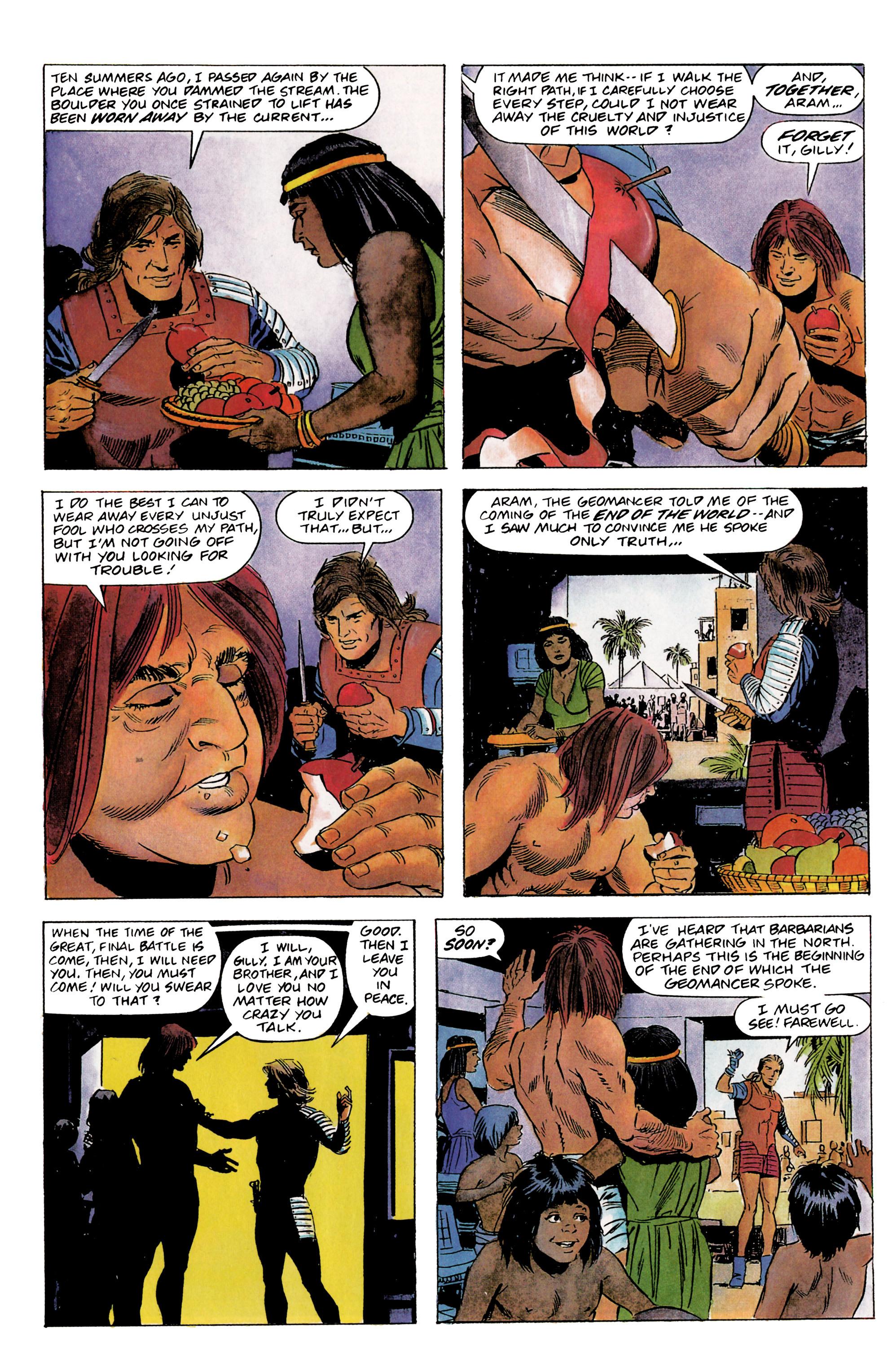 Read online Eternal Warrior (1992) comic -  Issue #1 - 20