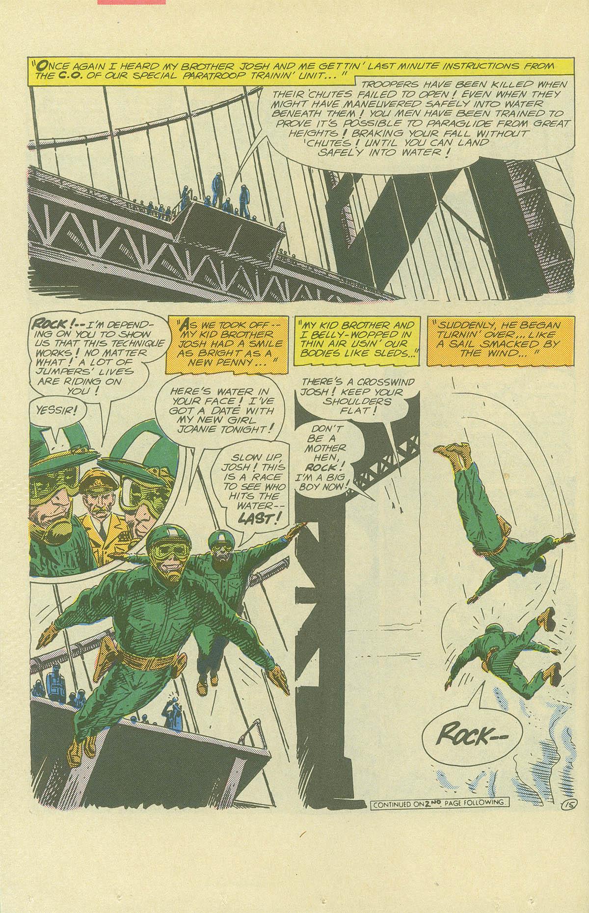 Read online Sgt. Rock comic -  Issue #404 - 22