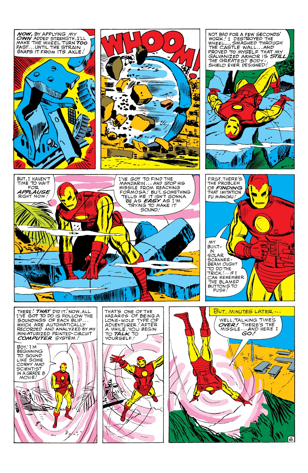 Read online Marvel Masterworks: The Invincible Iron Man comic -  Issue # TPB 2 (Part 2) - 94