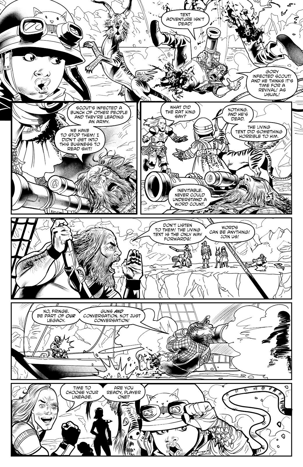 Read online Alan Moore's Cinema Purgatorio comic -  Issue #18 - 31