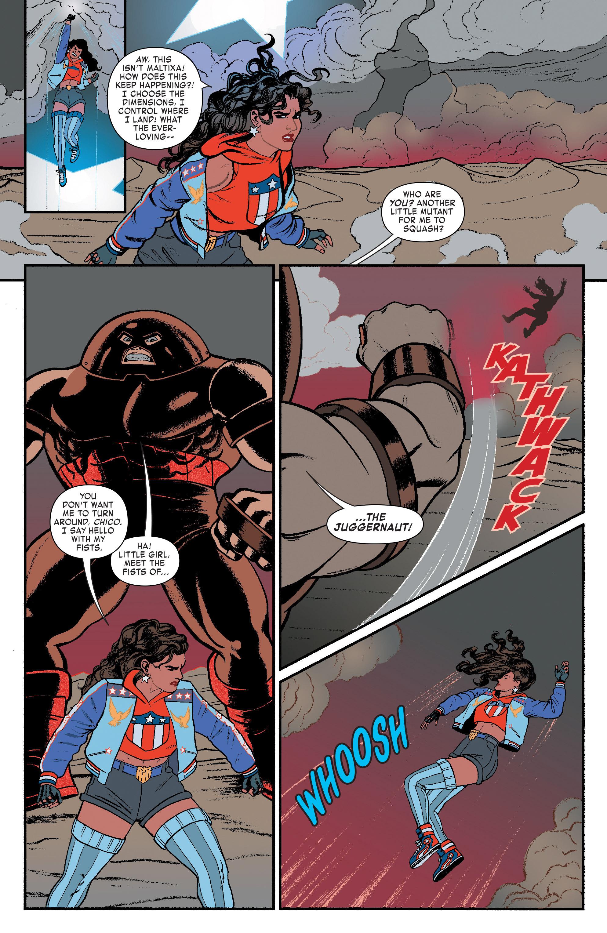 Read online America (2016) comic -  Issue #3 - 6