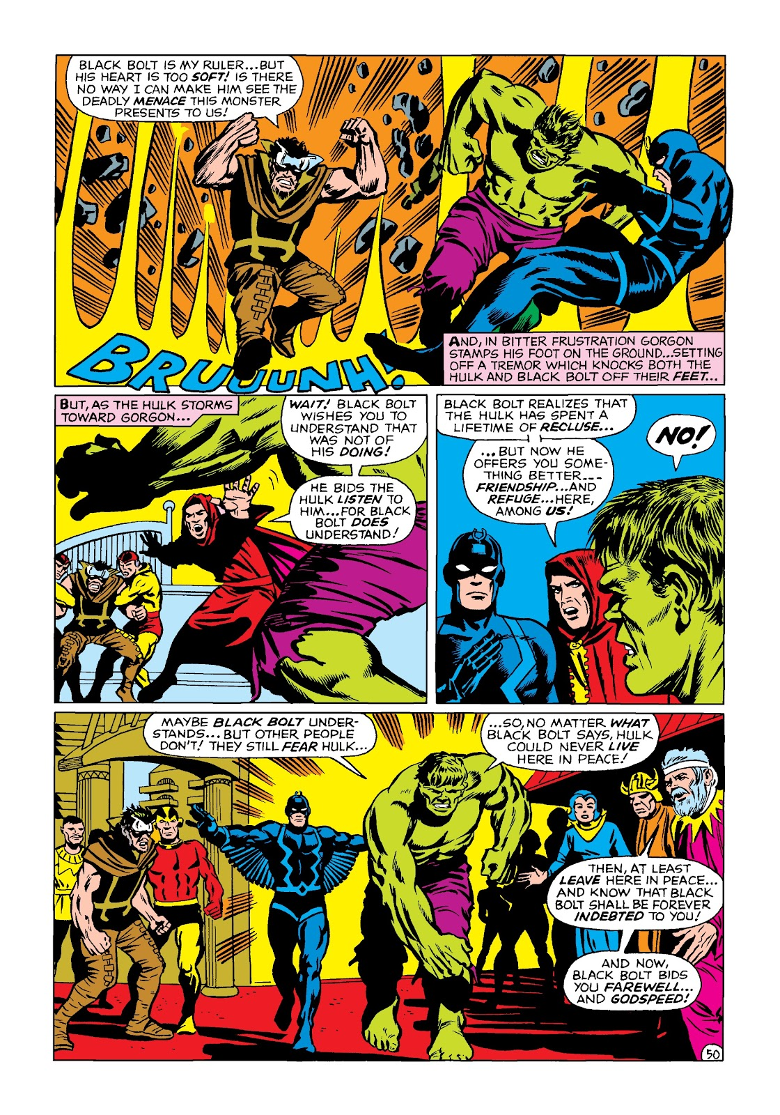 Read online Marvel Masterworks: The Incredible Hulk comic -  Issue # TPB 4 (Part 2) - 83