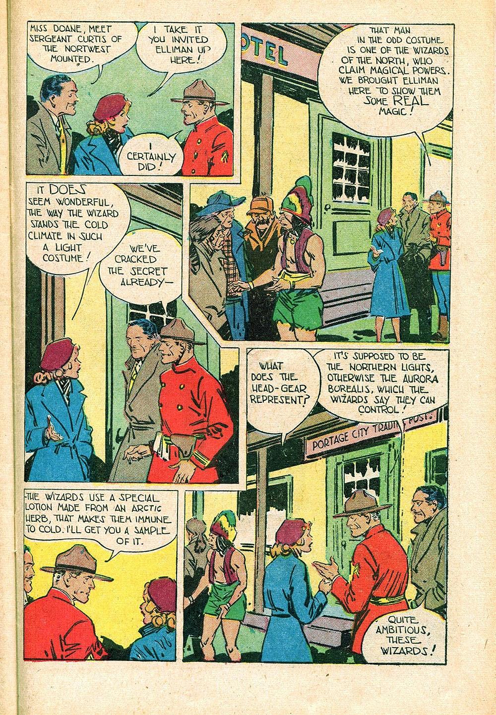 Read online Super-Magician Comics comic -  Issue #55 - 39