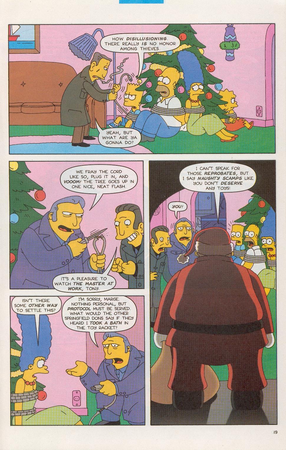 Read online Simpsons Comics comic -  Issue #52 - 20