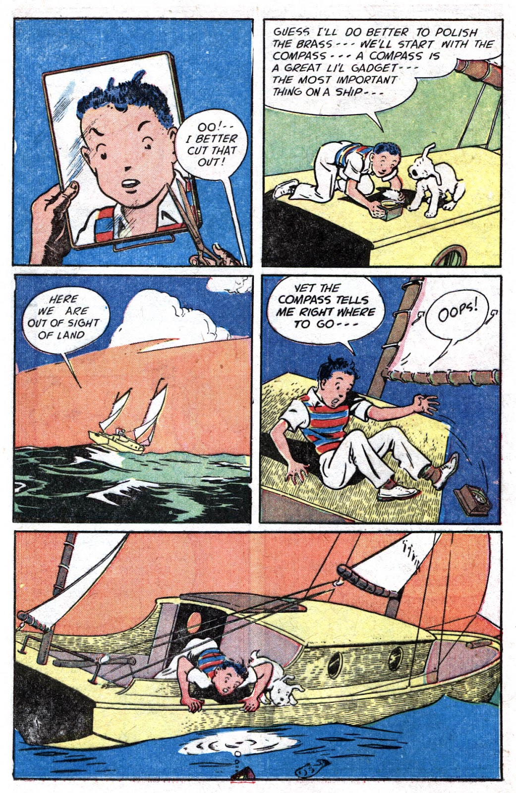 Read online Famous Funnies comic -  Issue #176 - 23